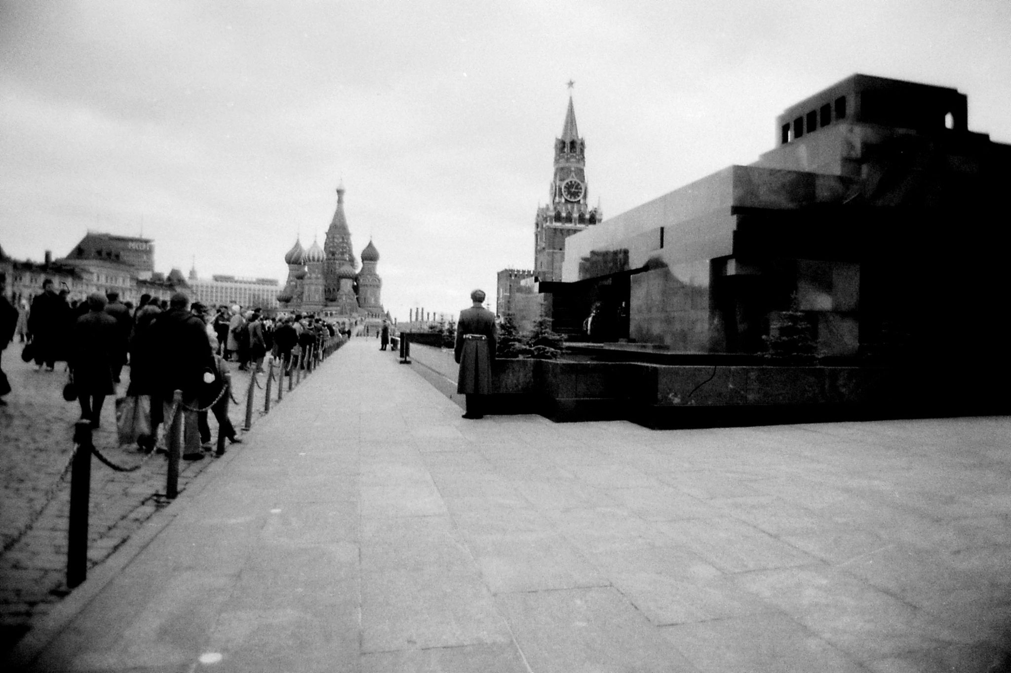 17/10/1988: 2: Lenin tomb and St Basil's