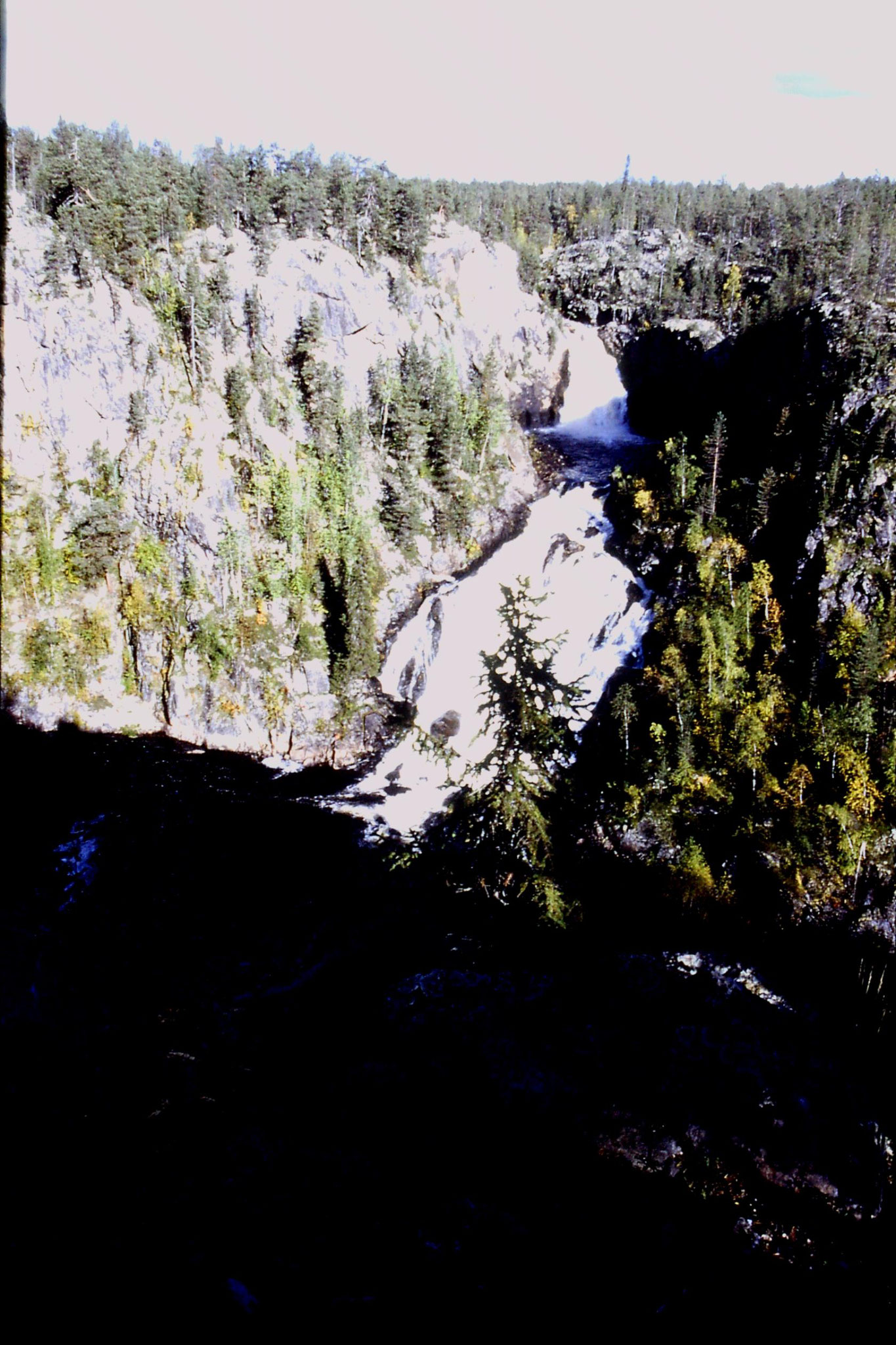 11/9/1988: 3: Muddus waterfall