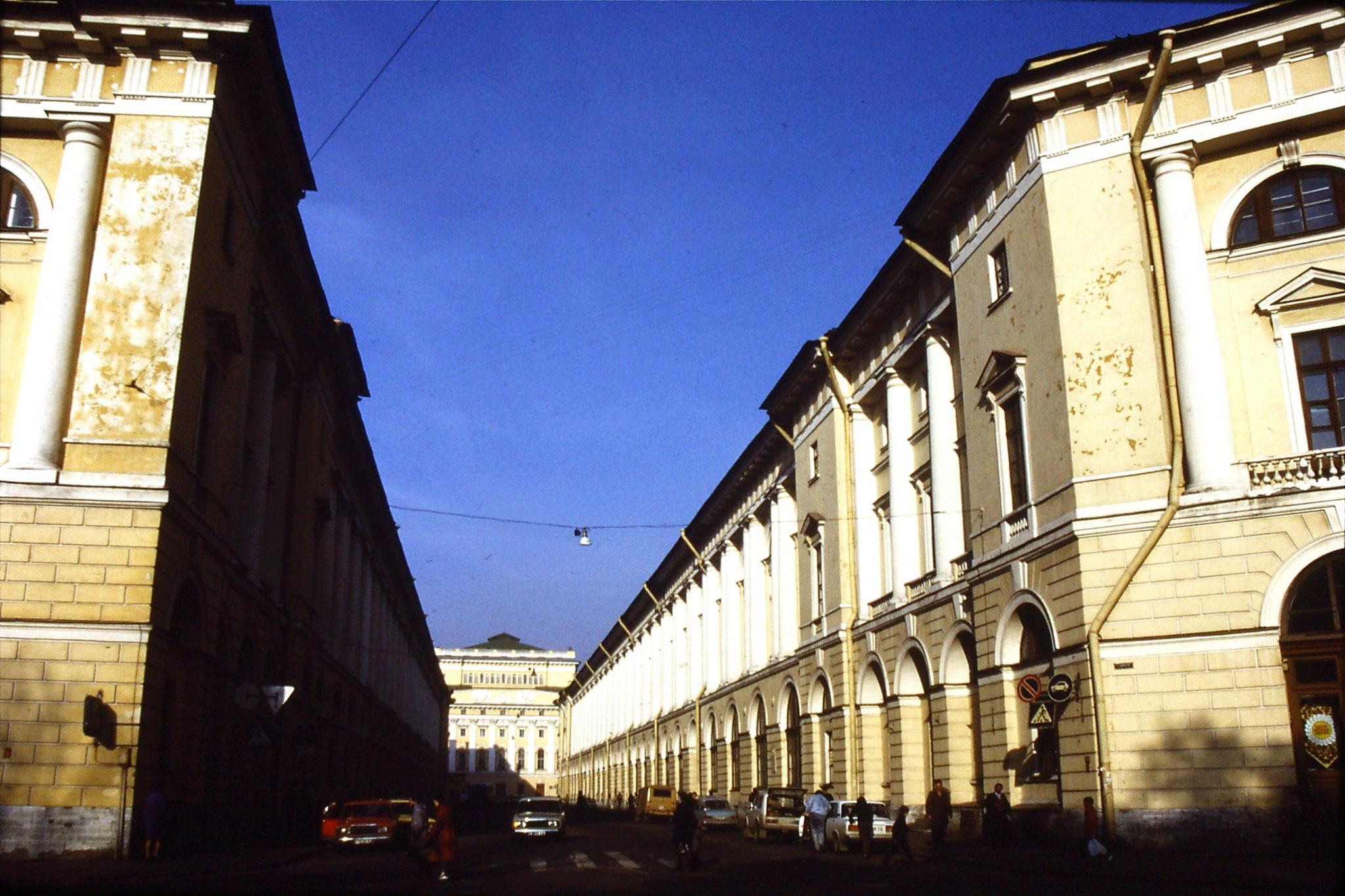 15/10/1988: 2: Theatre Street & Pushkin Theatre