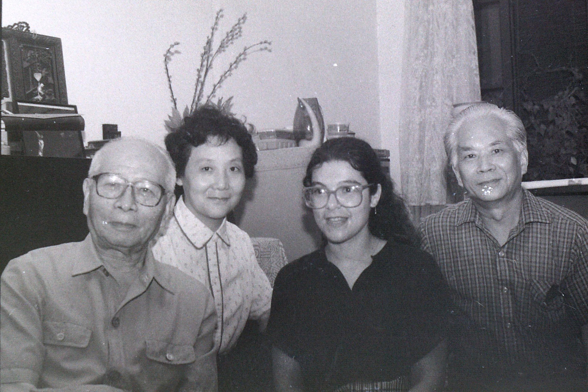 2/7/1989: 7: Shanghai, Lin family appartment