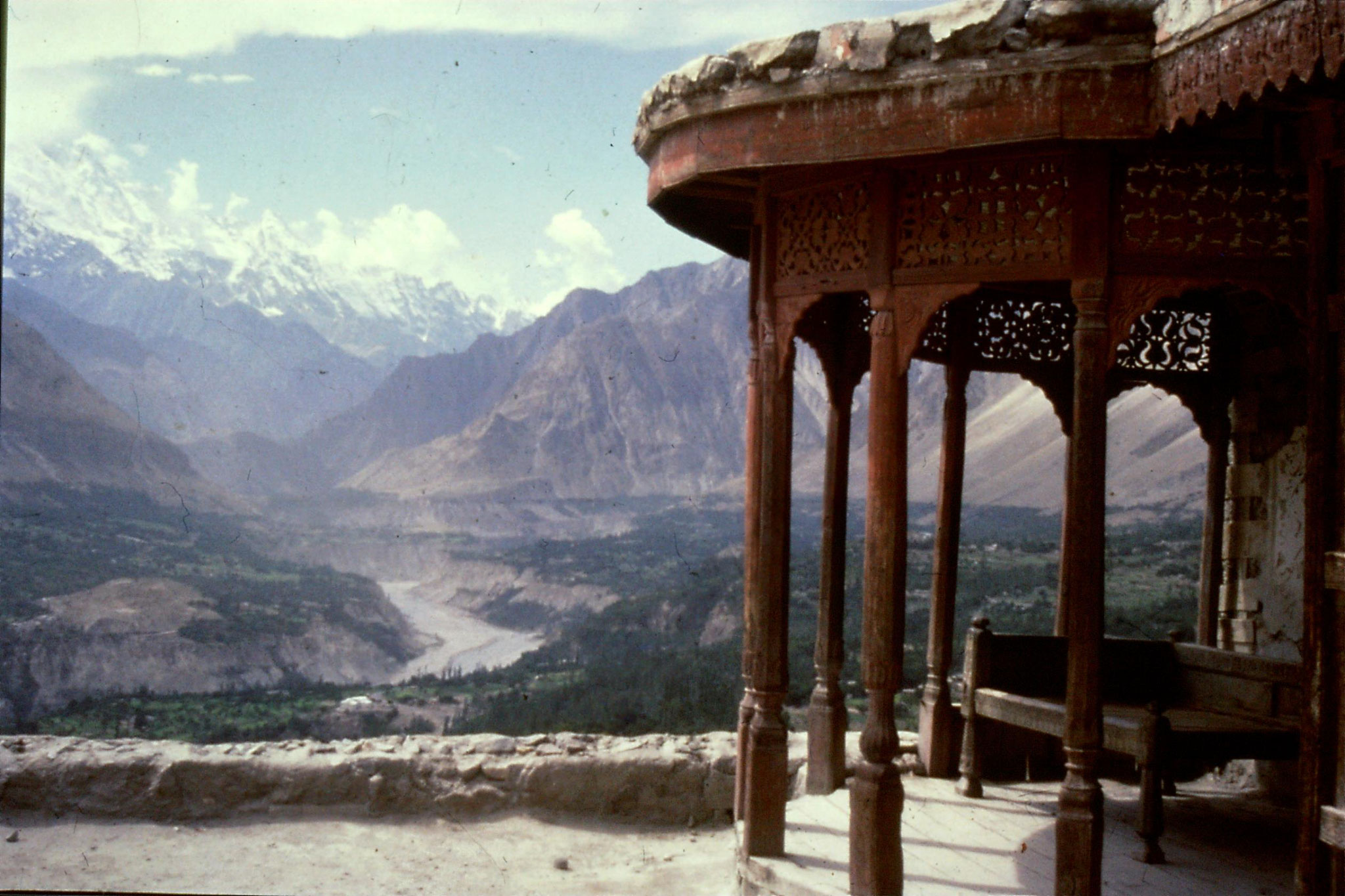 13/9/1989: 17: Karimabad view of Hunza Valley