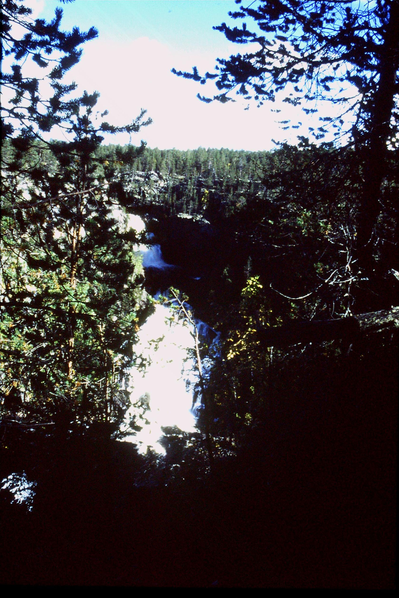 11/9/1988: 2: Muddus waterfall