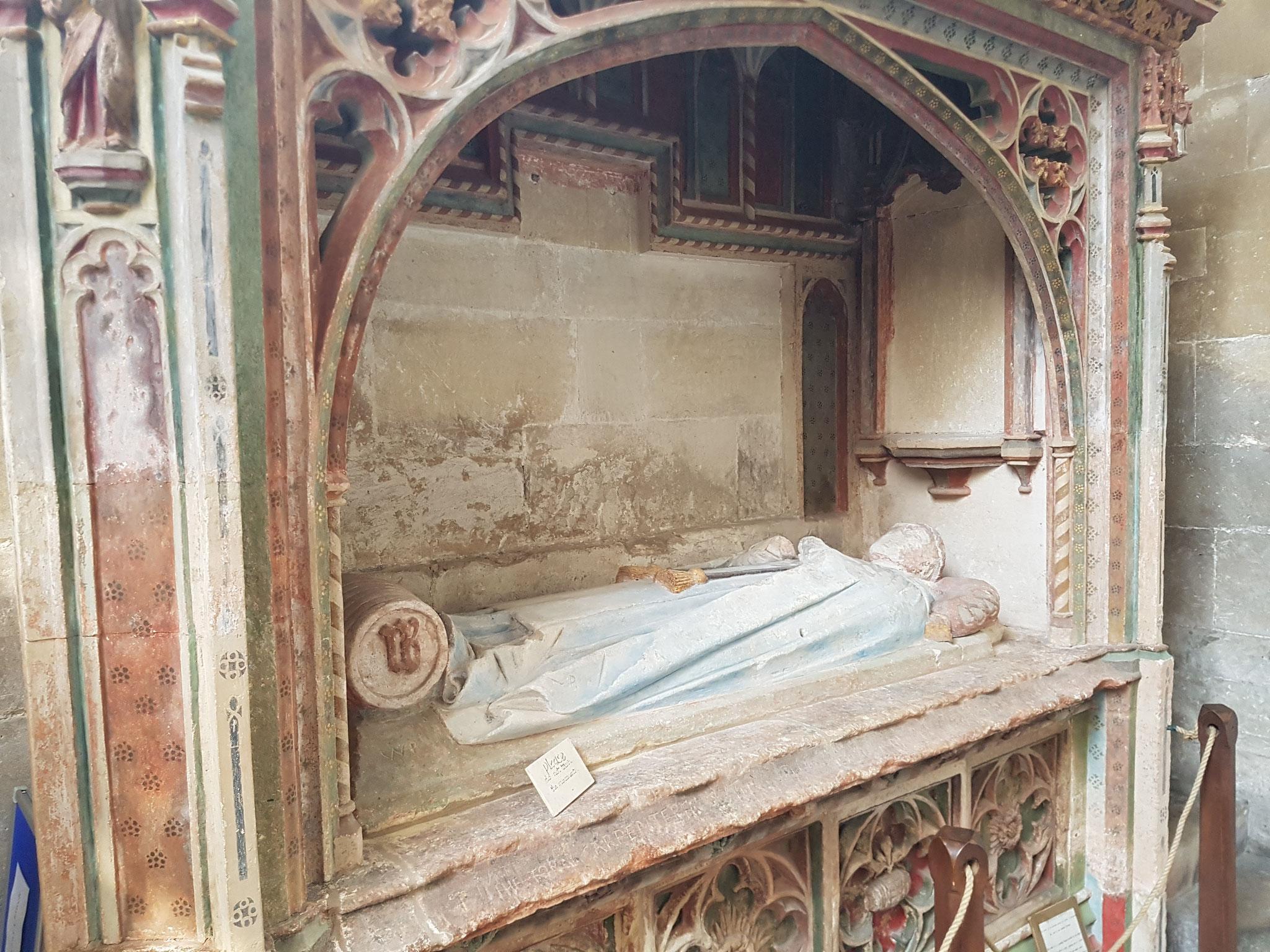 15th century tomb