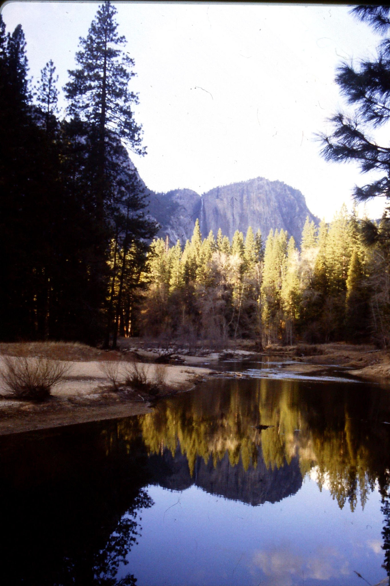16/2/1991: 23: Yosemite valley