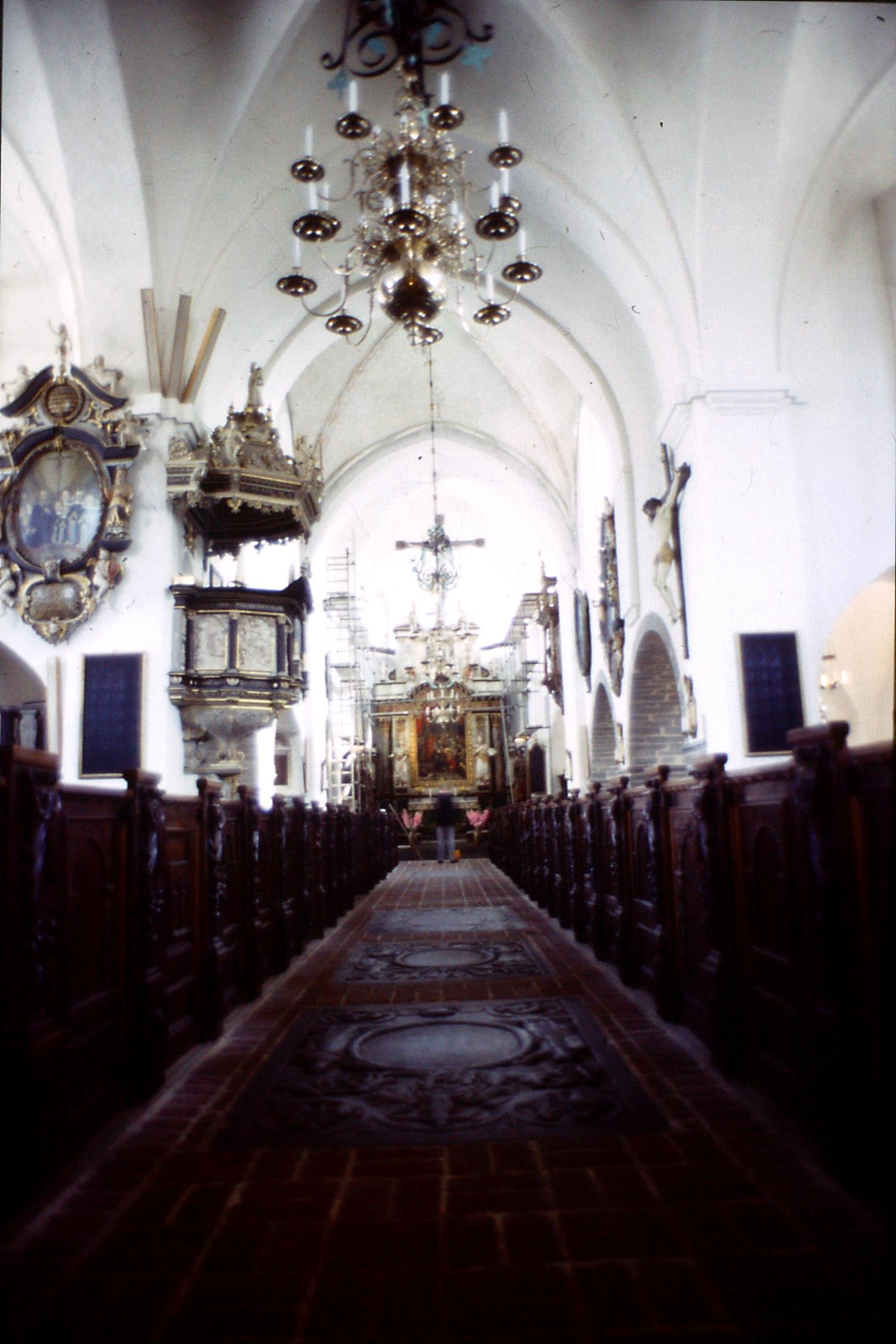 31/8/1988: 16: Ystad St Maria Church