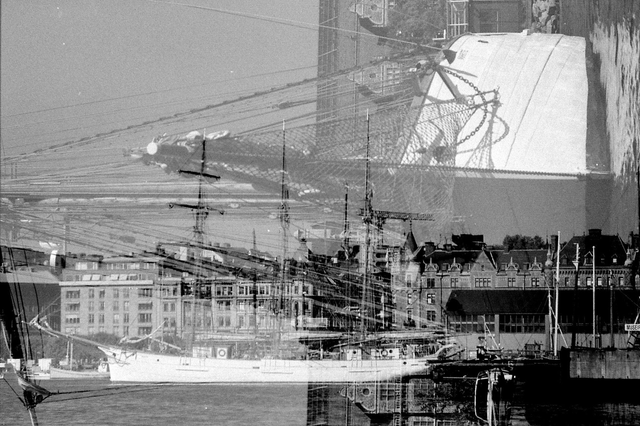 7/9/1988: 39: Stockholm harbour