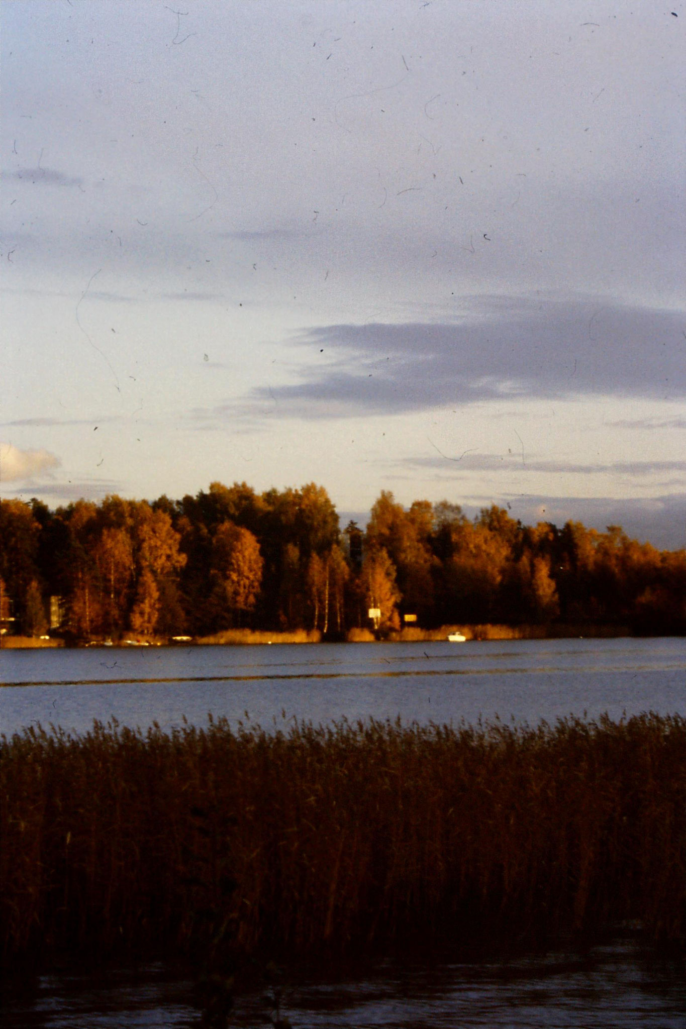 11/10/1988: 11: view across bay at Otaniemi