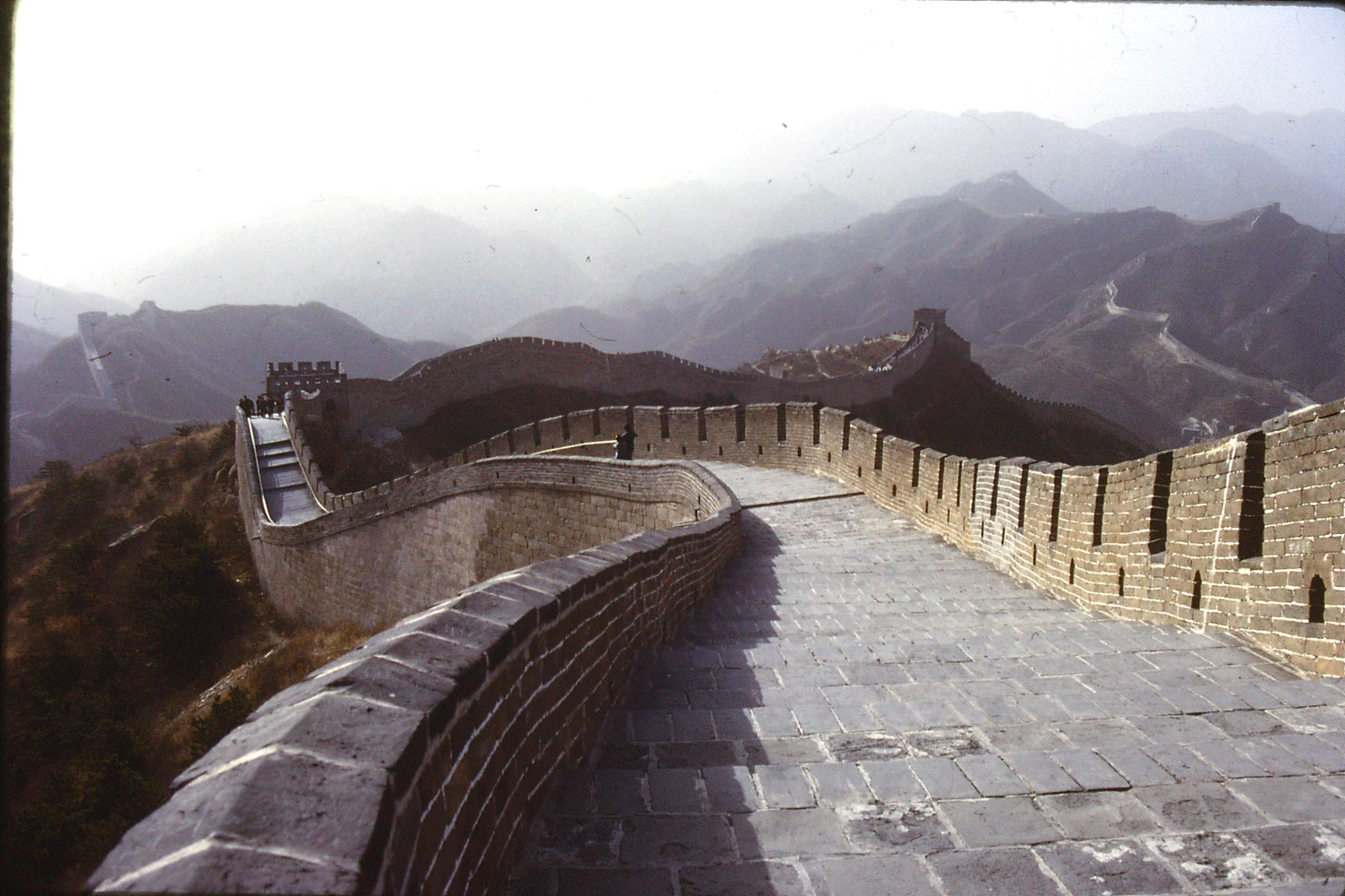 12/11/1988: 4: Great Wall at Badaling