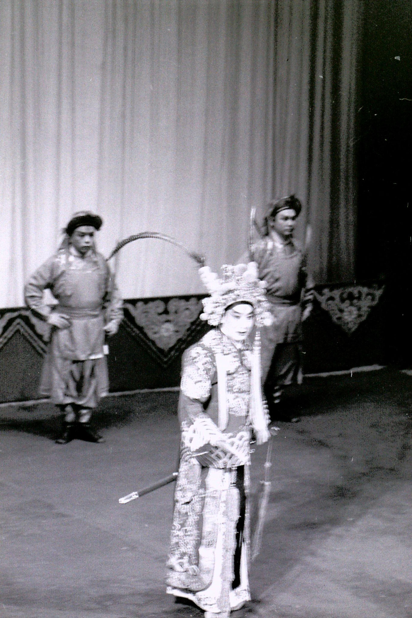 17/3/1989: 3: Beijing Opera at Chang'an Theatre