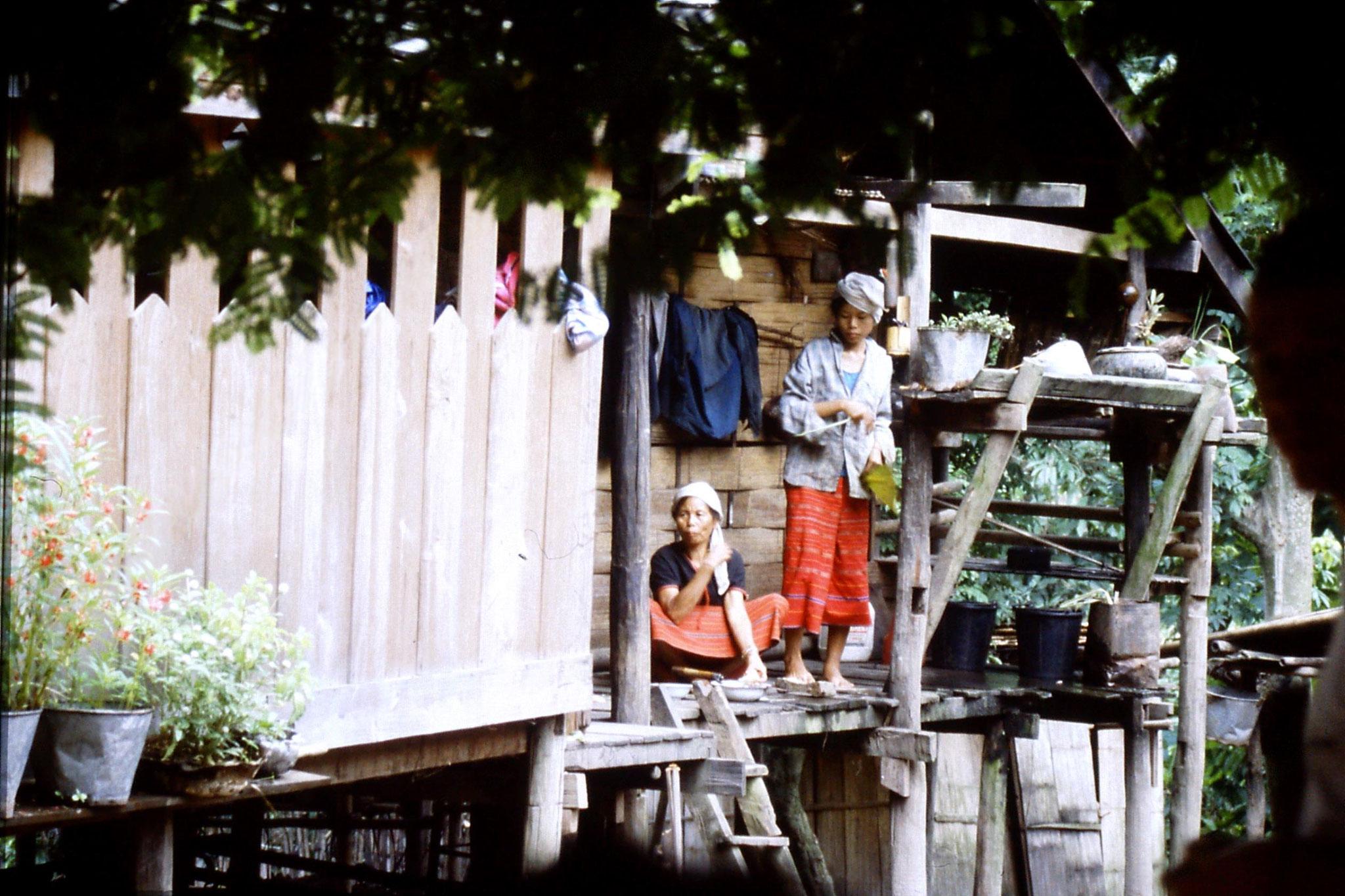 12/6/1990: 3: Trek - Mae Mi village (Karen)