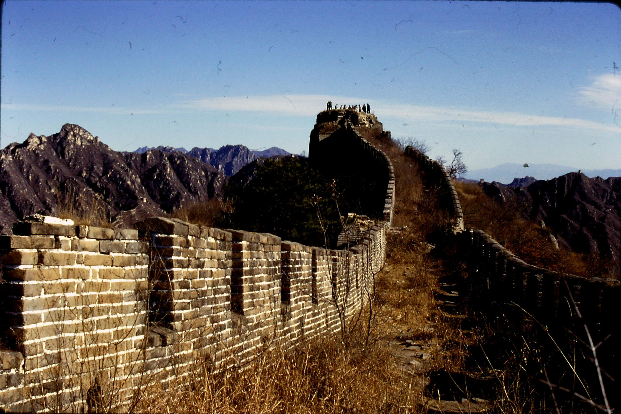 13/11/1988: 17: Great Wall at Mutianyu