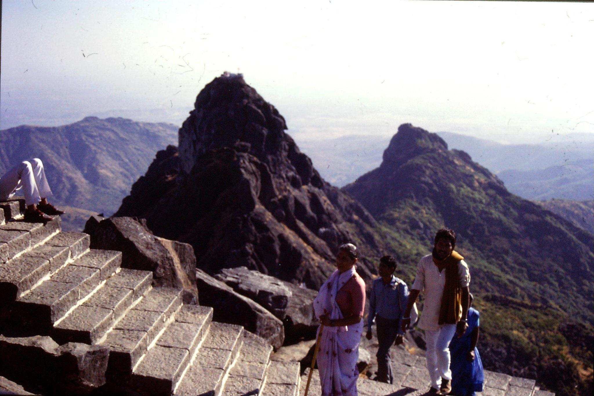 12/12/1989: 0: Junagardh, top of Mt Girnar