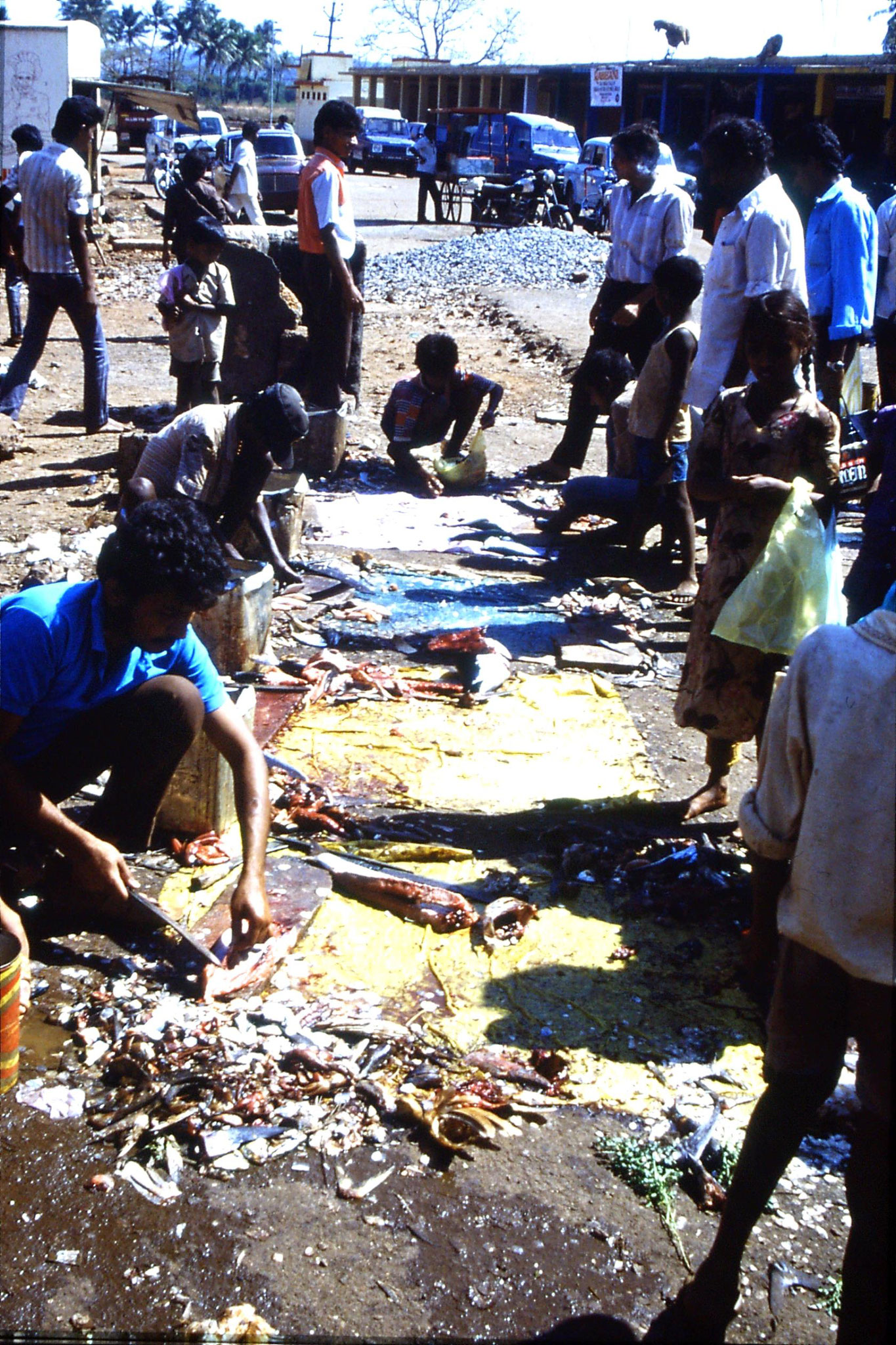 6/1/1990: 4: Mapusa market