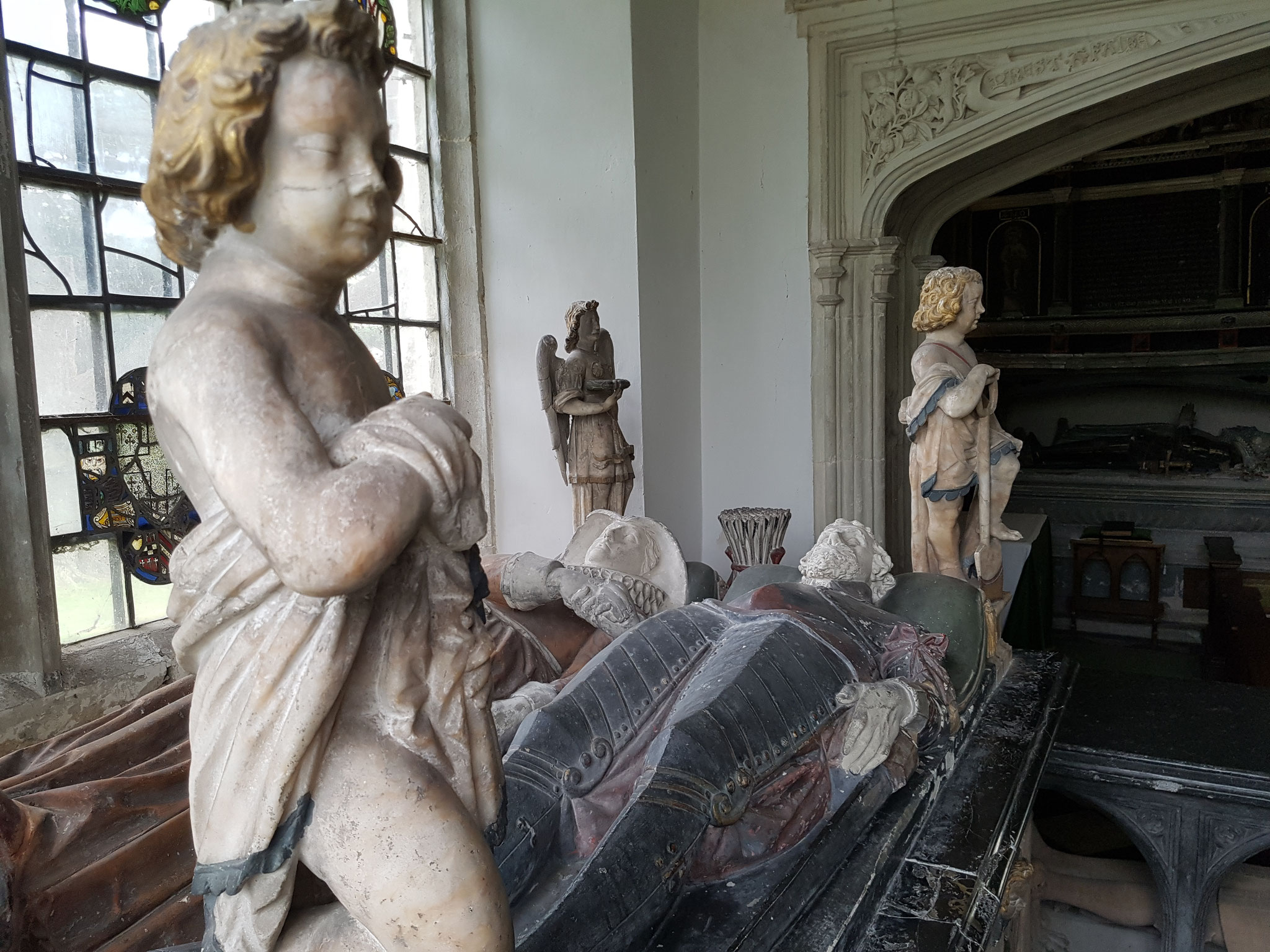 Tomb of Sir George Hart d 1587