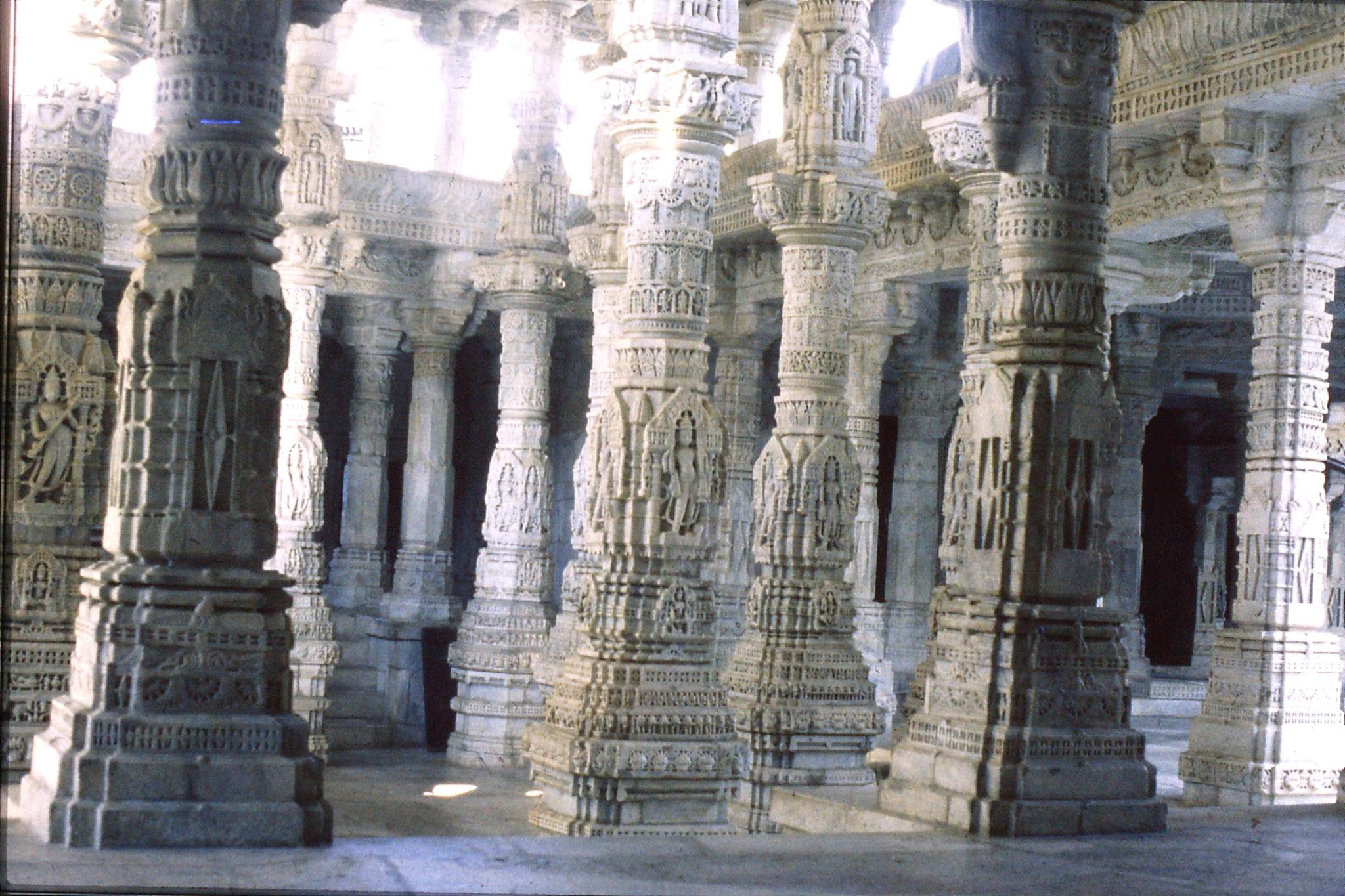 6/12/1989: 17: Ranakpur Jain temple