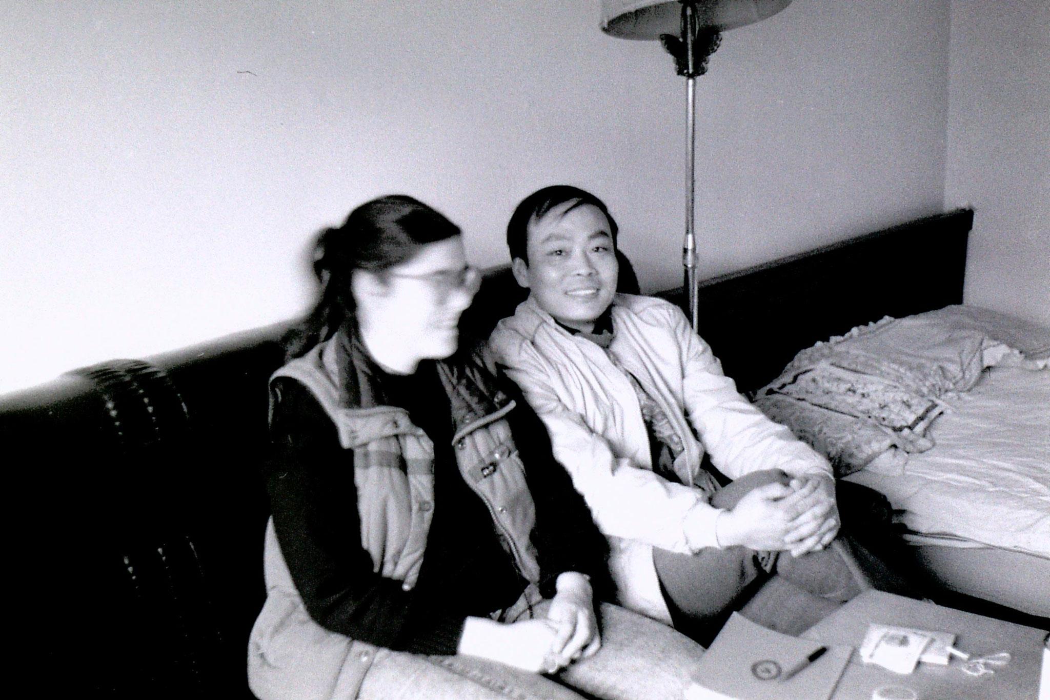 18/3/1989: 7: Beijing: Yeh Jing Tow's flat