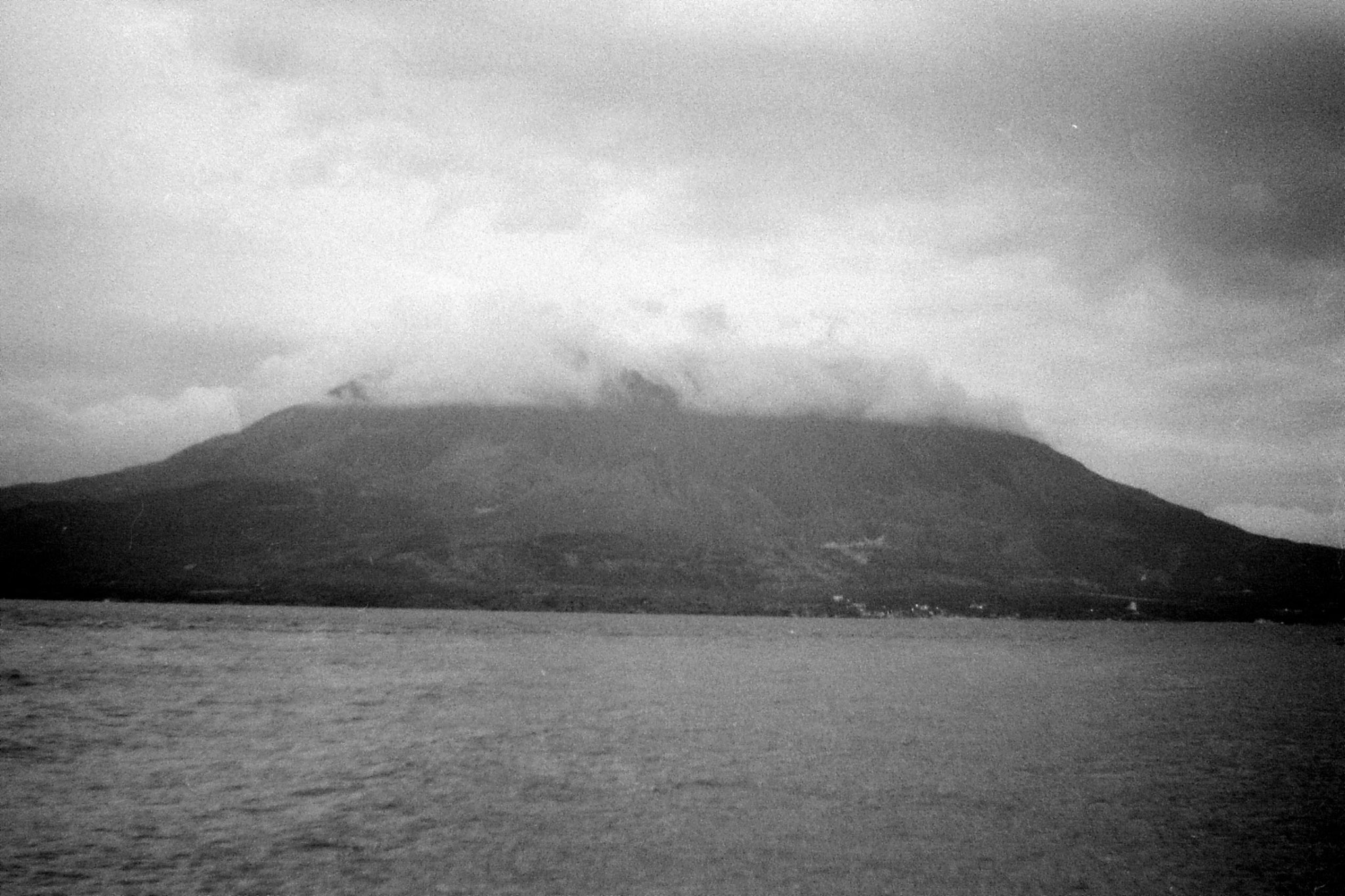 19/1/1989: 22: Sakurajima at sunset