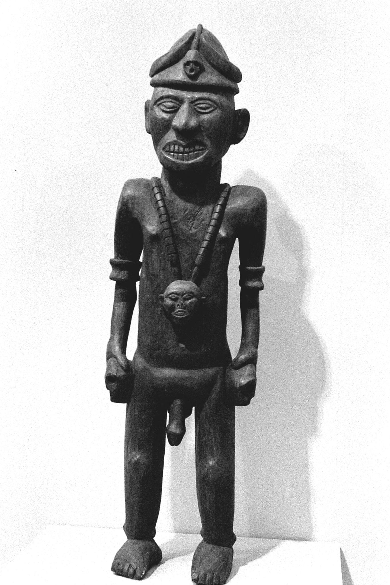 26/11/1989: 34: National Museum, Naga head hunter