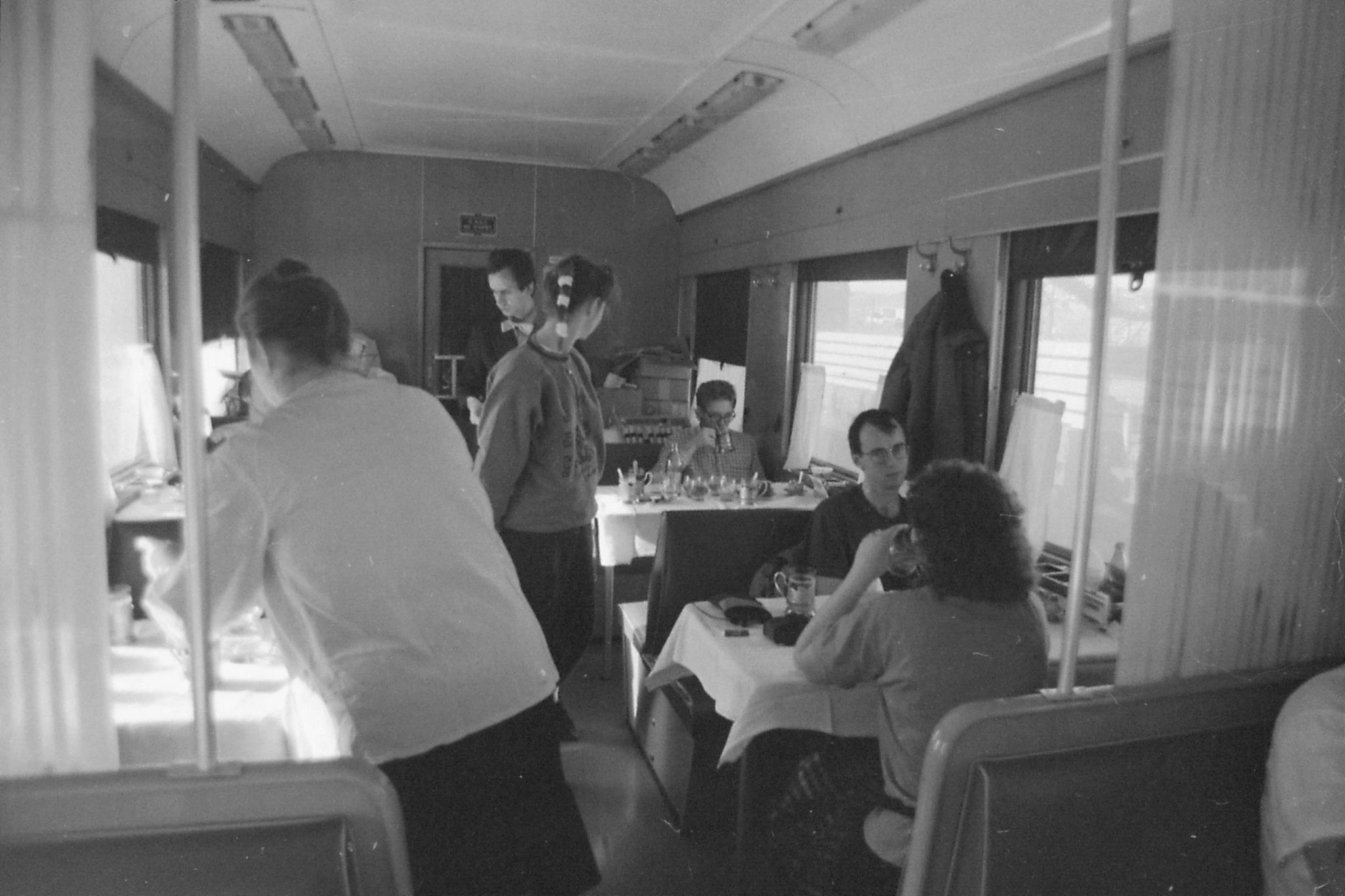 26/10/1988: 21: Russian dining car