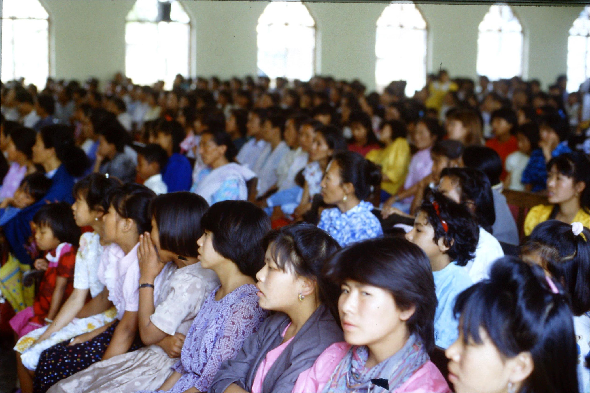 113/6: 15/4 Imphal Baptist Church - hymn singing competition