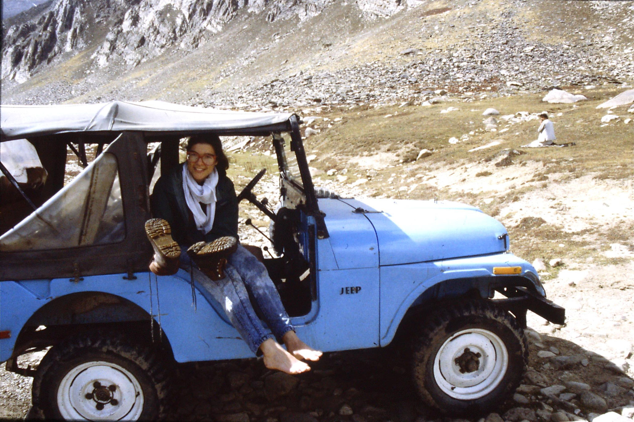 6/10/1989: 32: below Babusar Pass