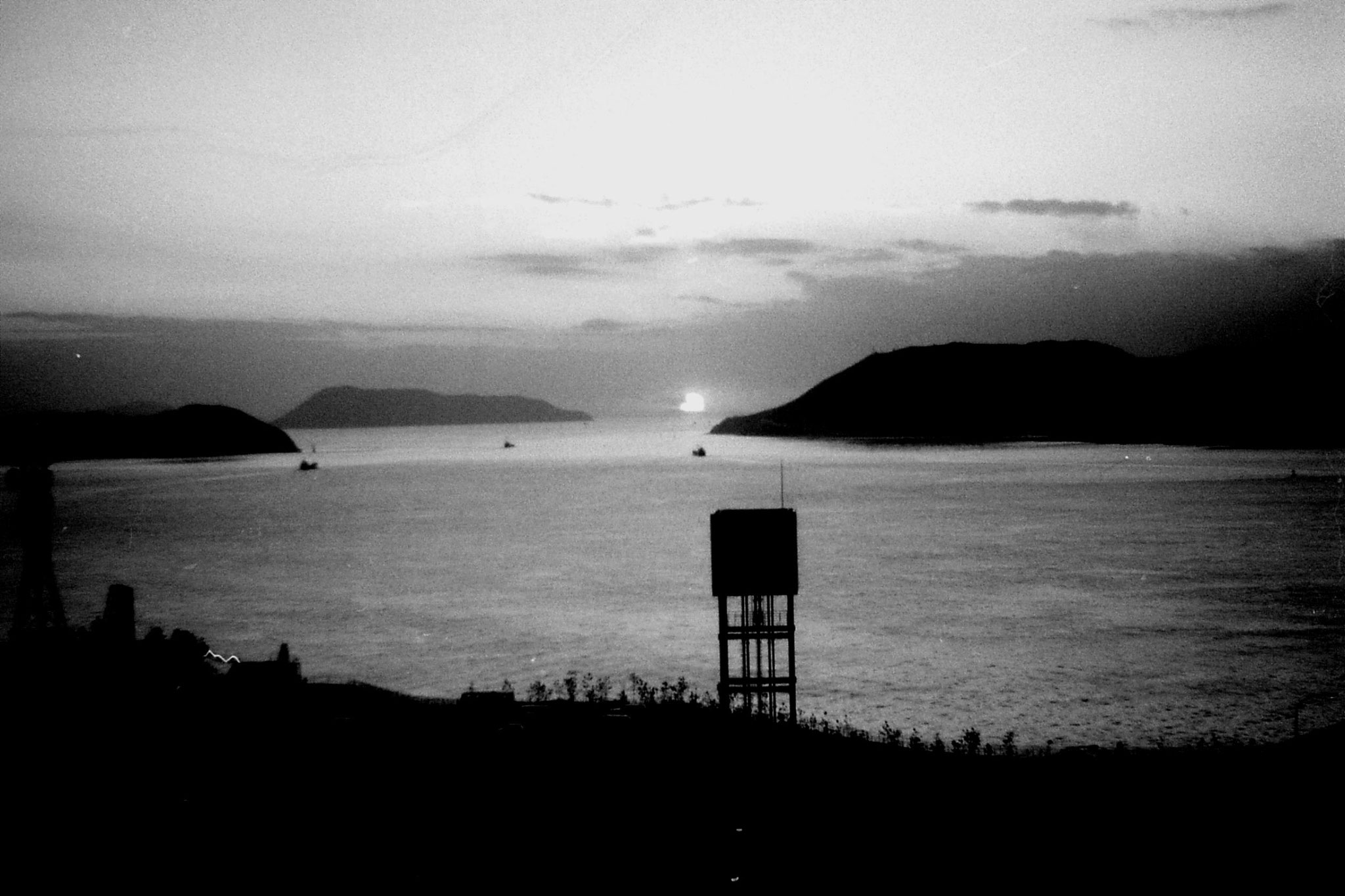 24/1/1989: 25:Seto Sea at sunset