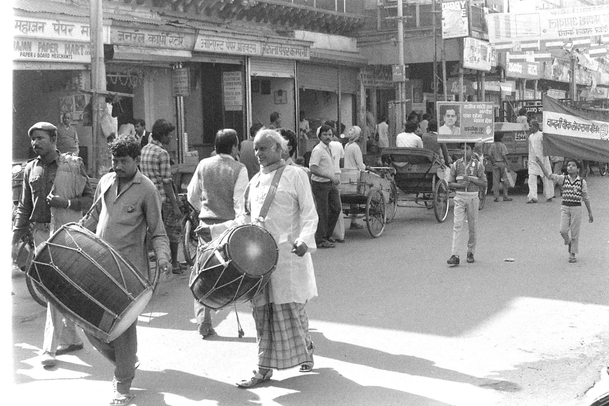 20/11/1989: 12: New Delhi Congress (I) supporters