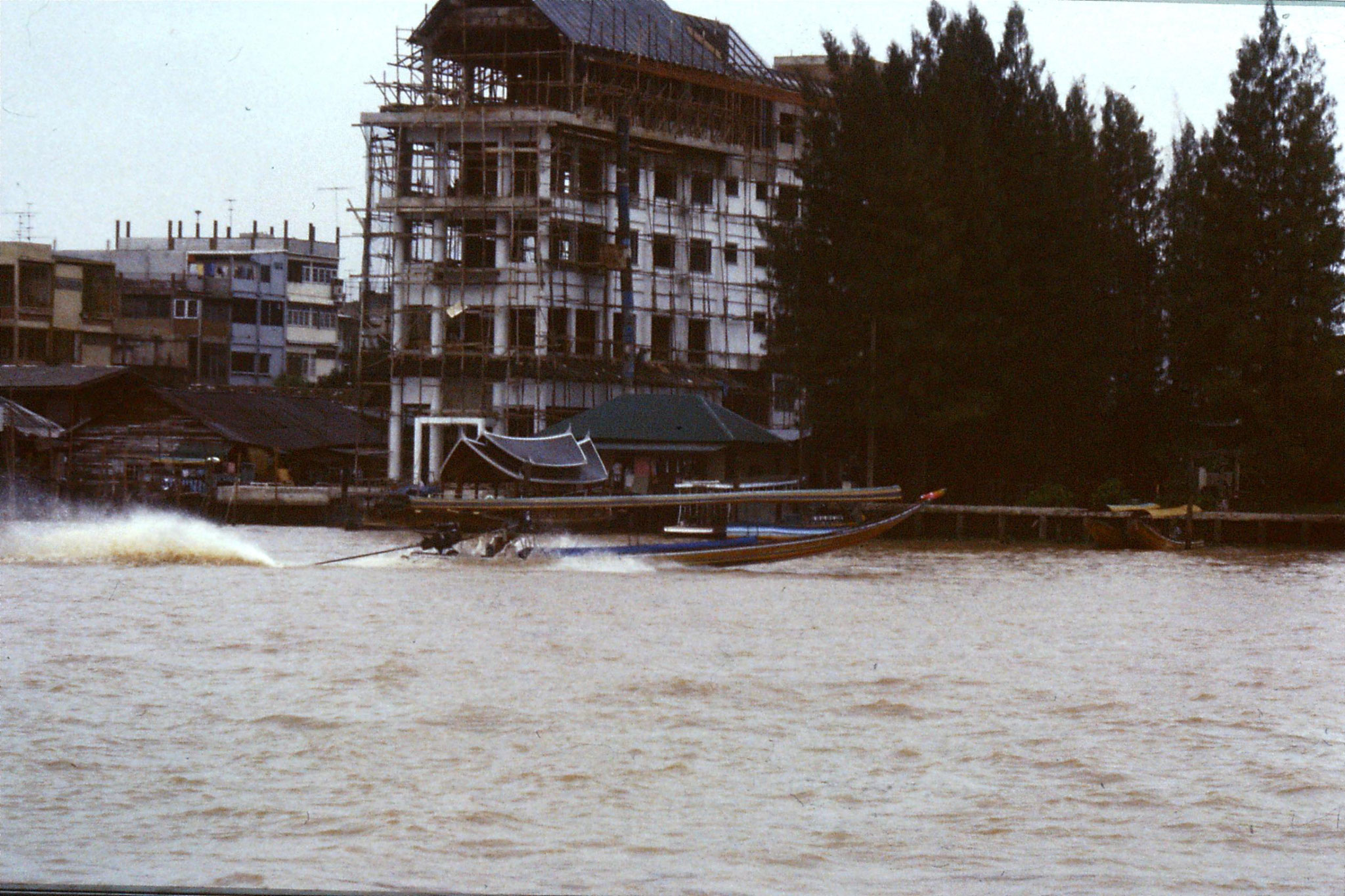 17/6/1990: 12: Bangkok long tail boats