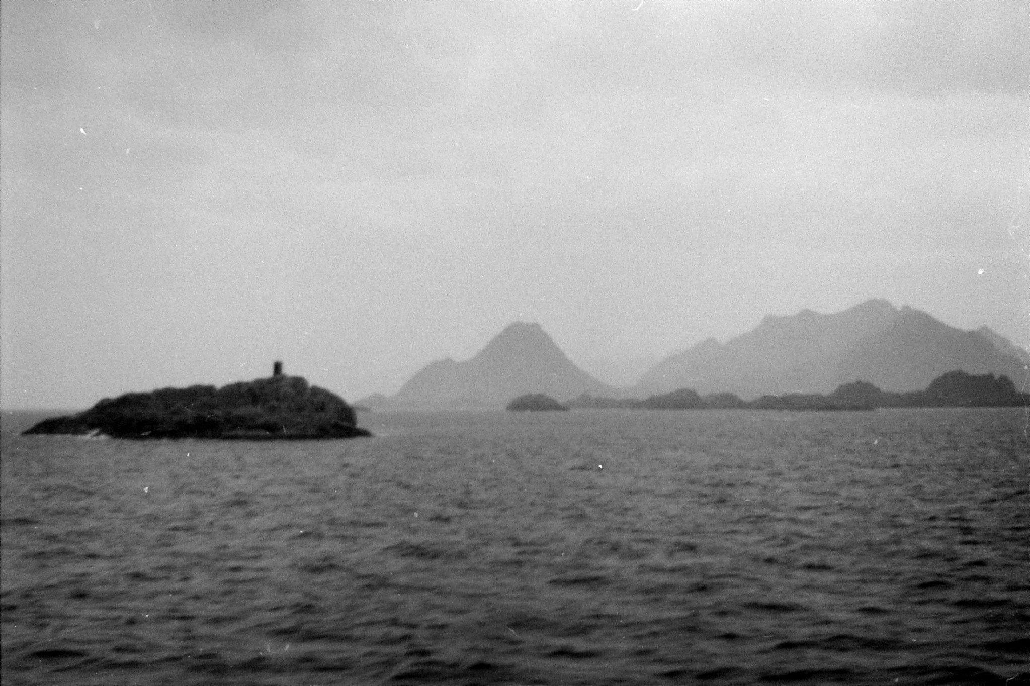 24/9/1988: 17: approaching Lofoten Is.