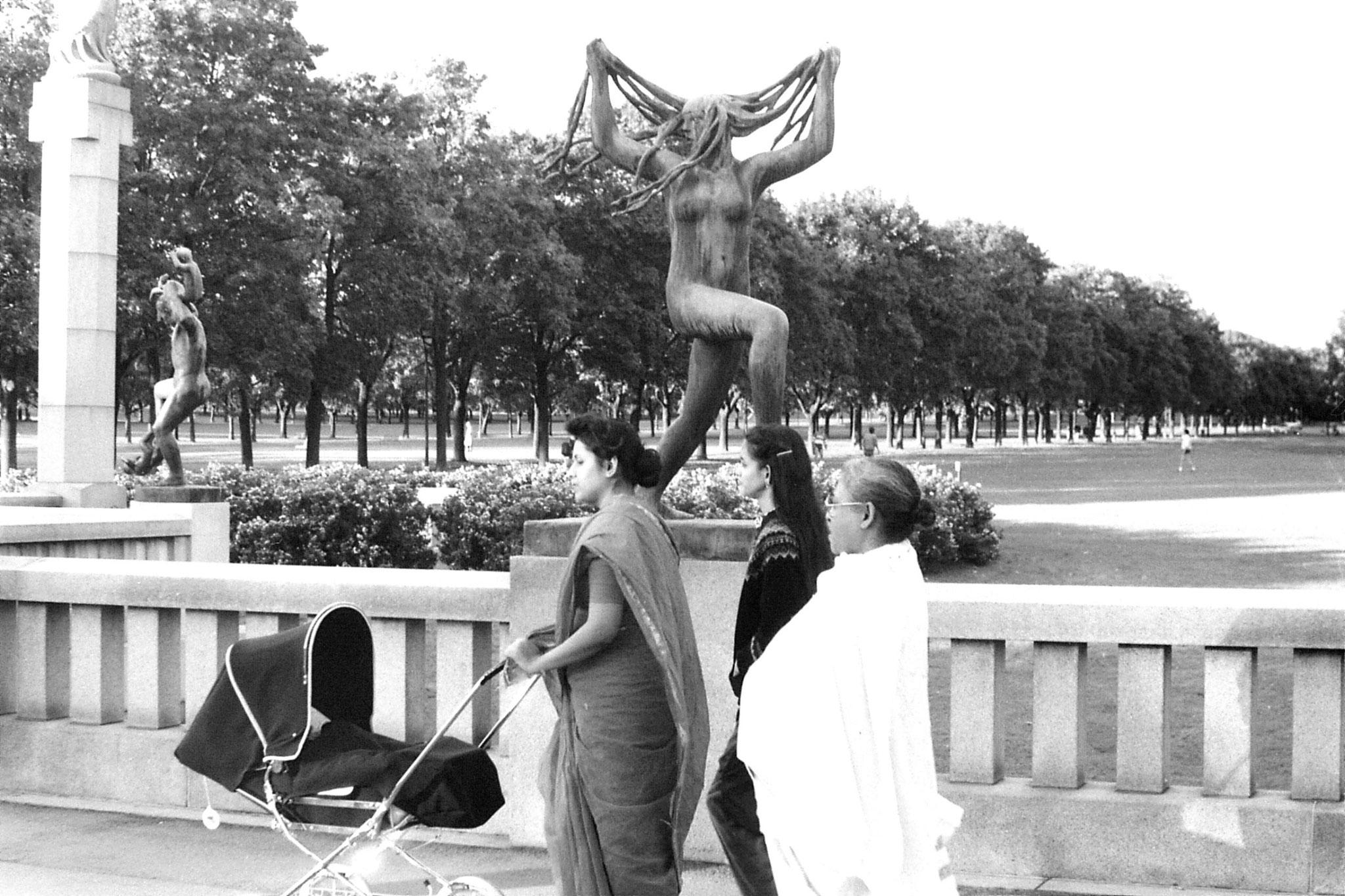 17/9/1988: 17: Vigeland sculpture park