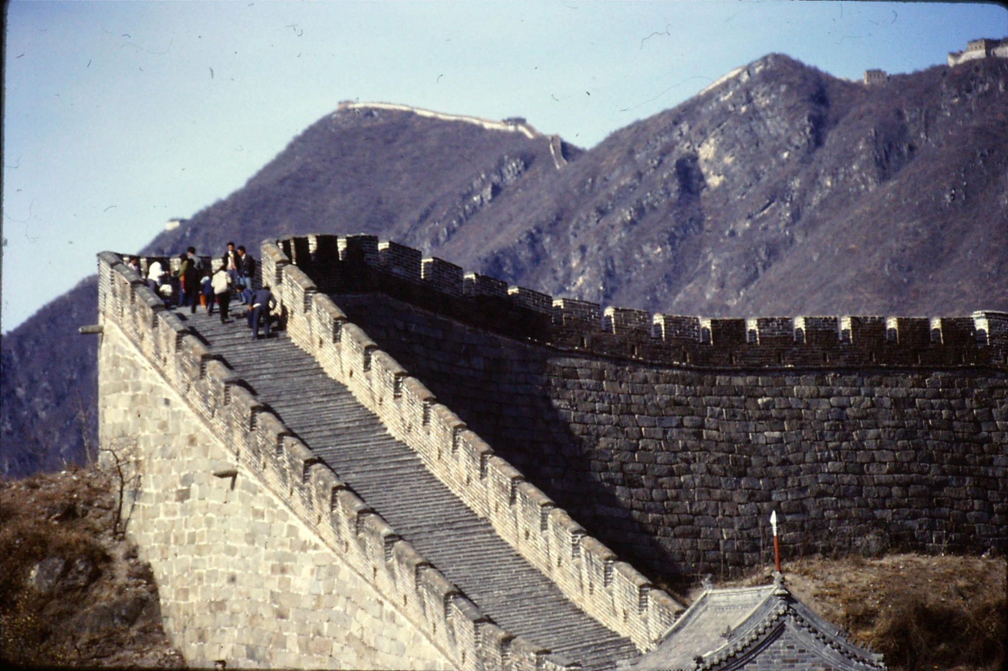13/11/1988: 23: Great Wall at Mutianyu