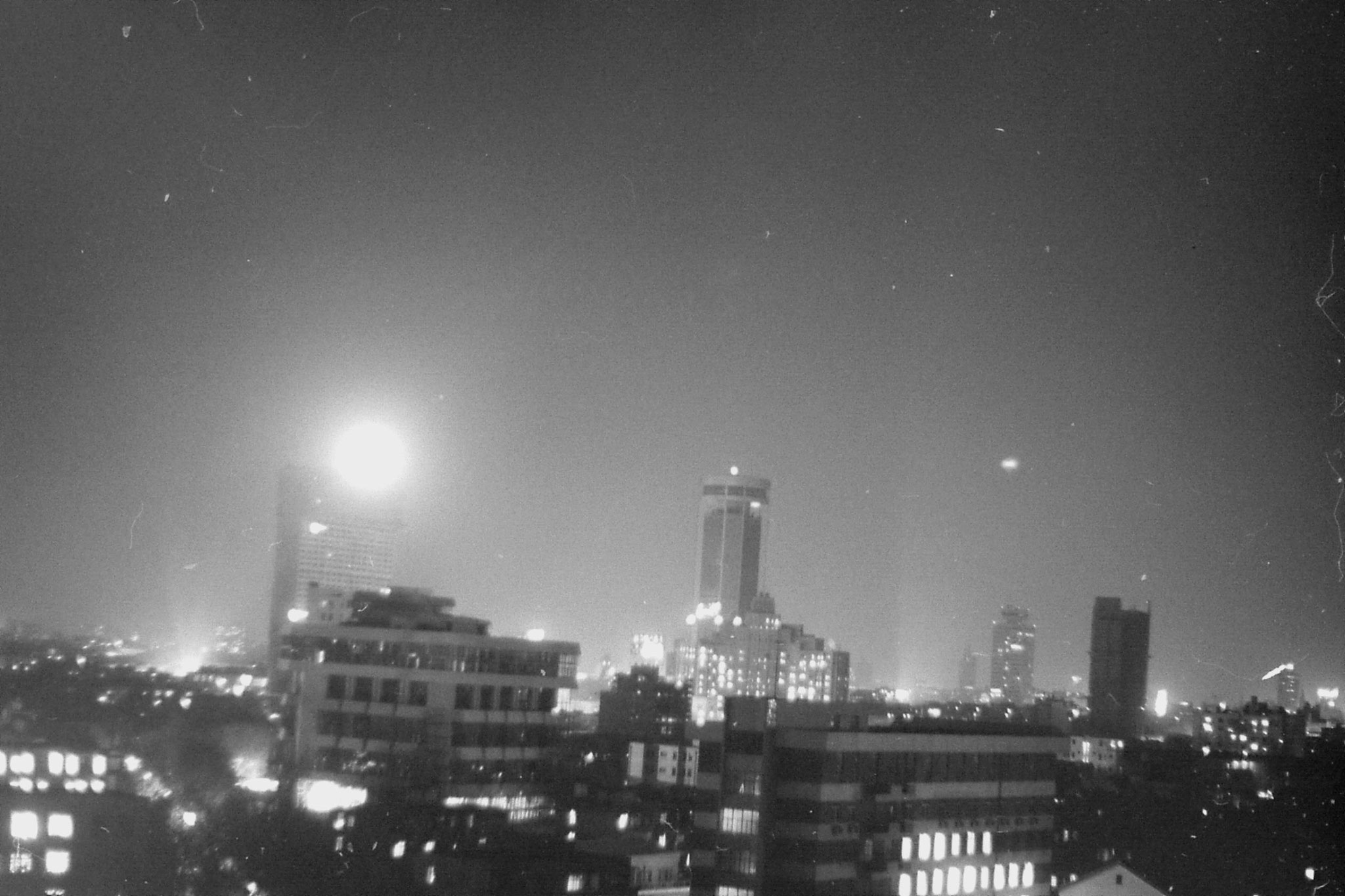 15/12/1988: 31: night view of Shanghai