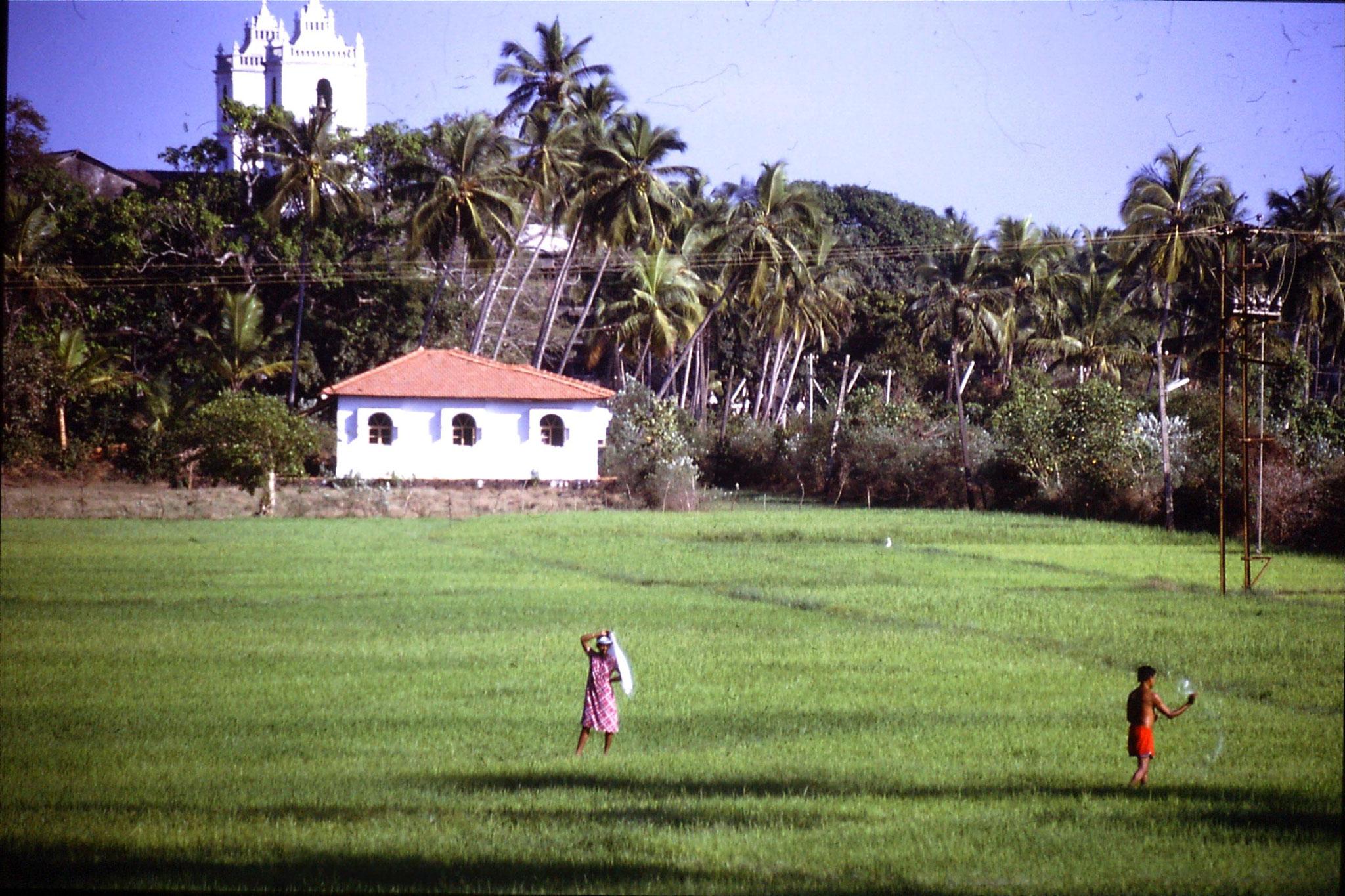 4/1/1990: 31: Goa Candolim St Theresa's church