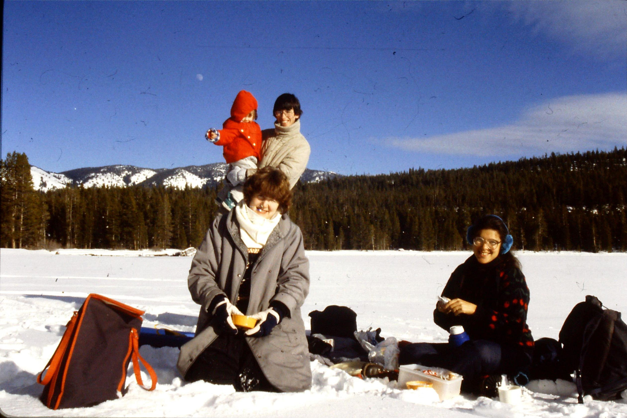 26/1/1991: 4: Red Fish Lake