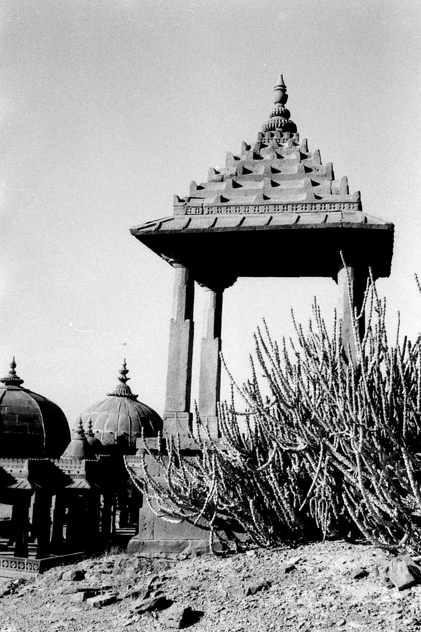 4/12/1989: 3: Jaisalmer cenotaph