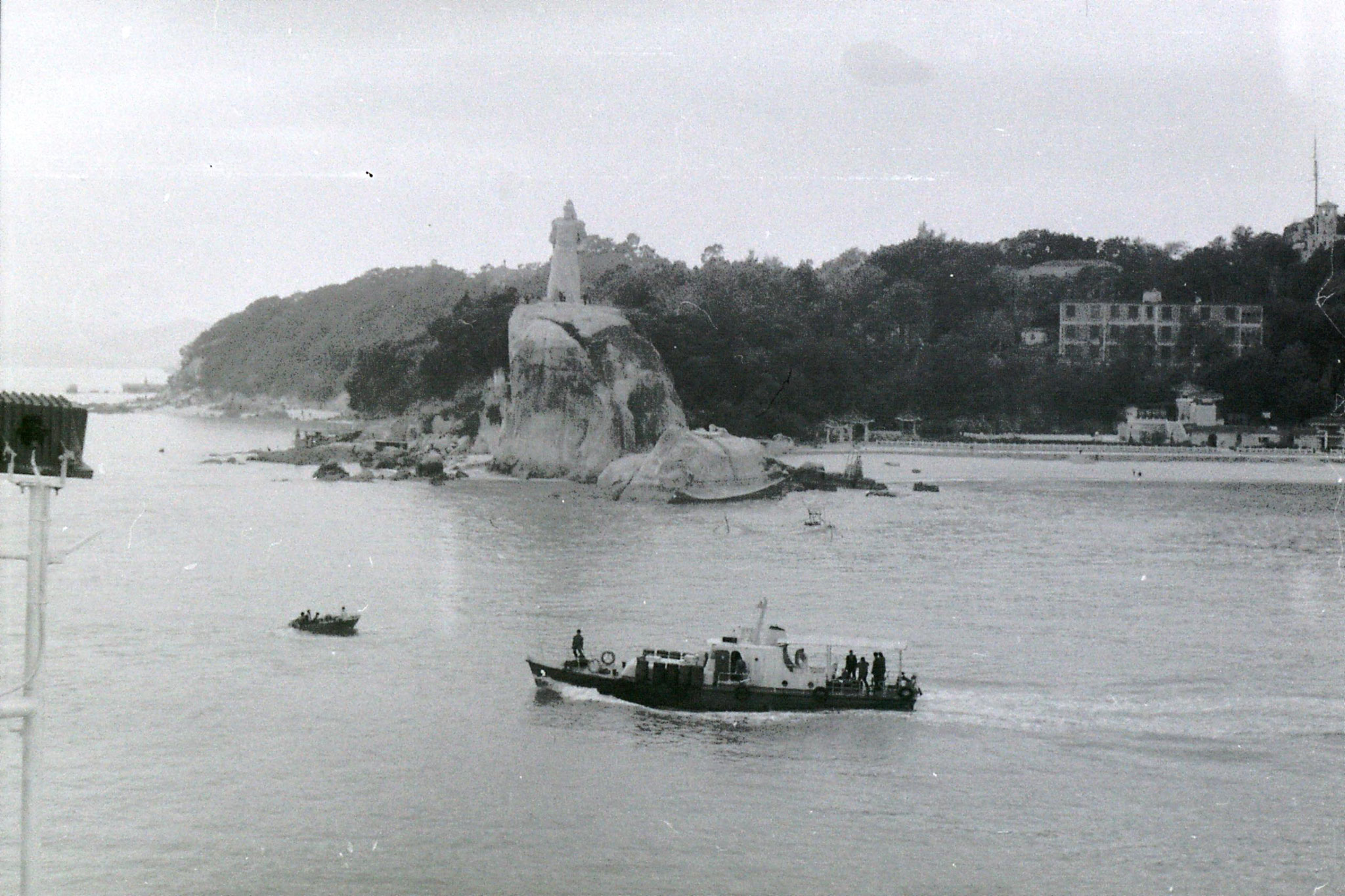 30/3/1989: 0: Gulanggu from ship leaving for Hong Kong