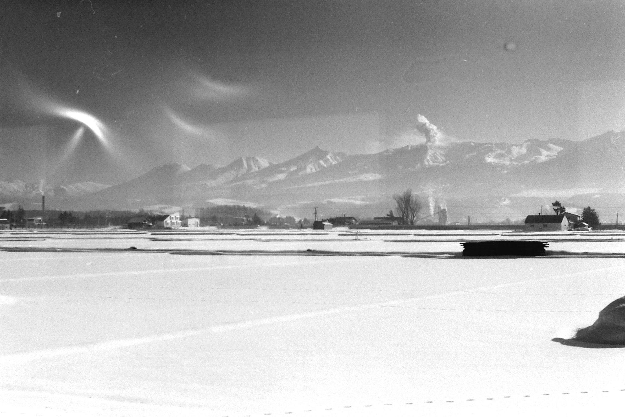 13/1/1989: 17: on train to Furano, Mt Tokachi