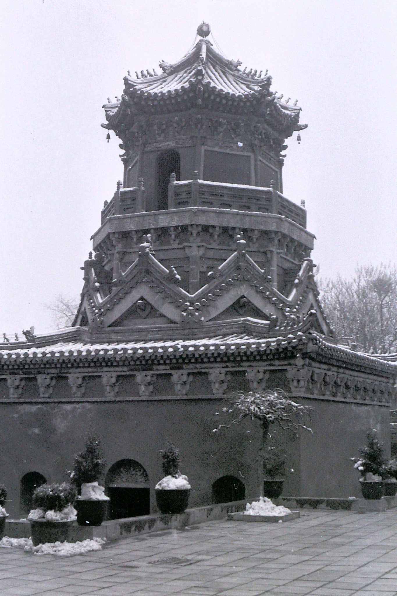 25/2/1989: 30: Tao temple Kaifeng