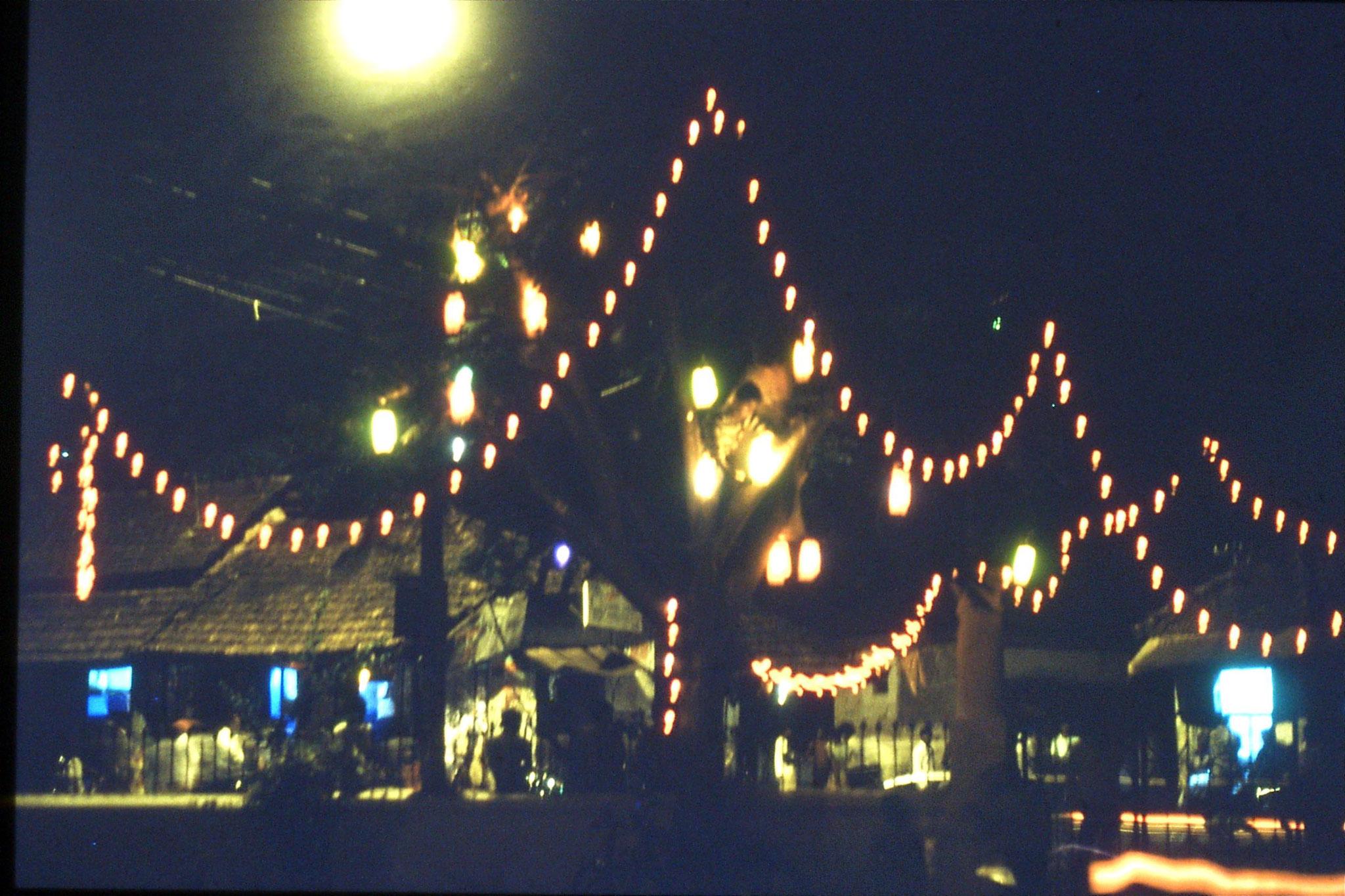 28/12/1989: 22: Goa Siolim decorations on church