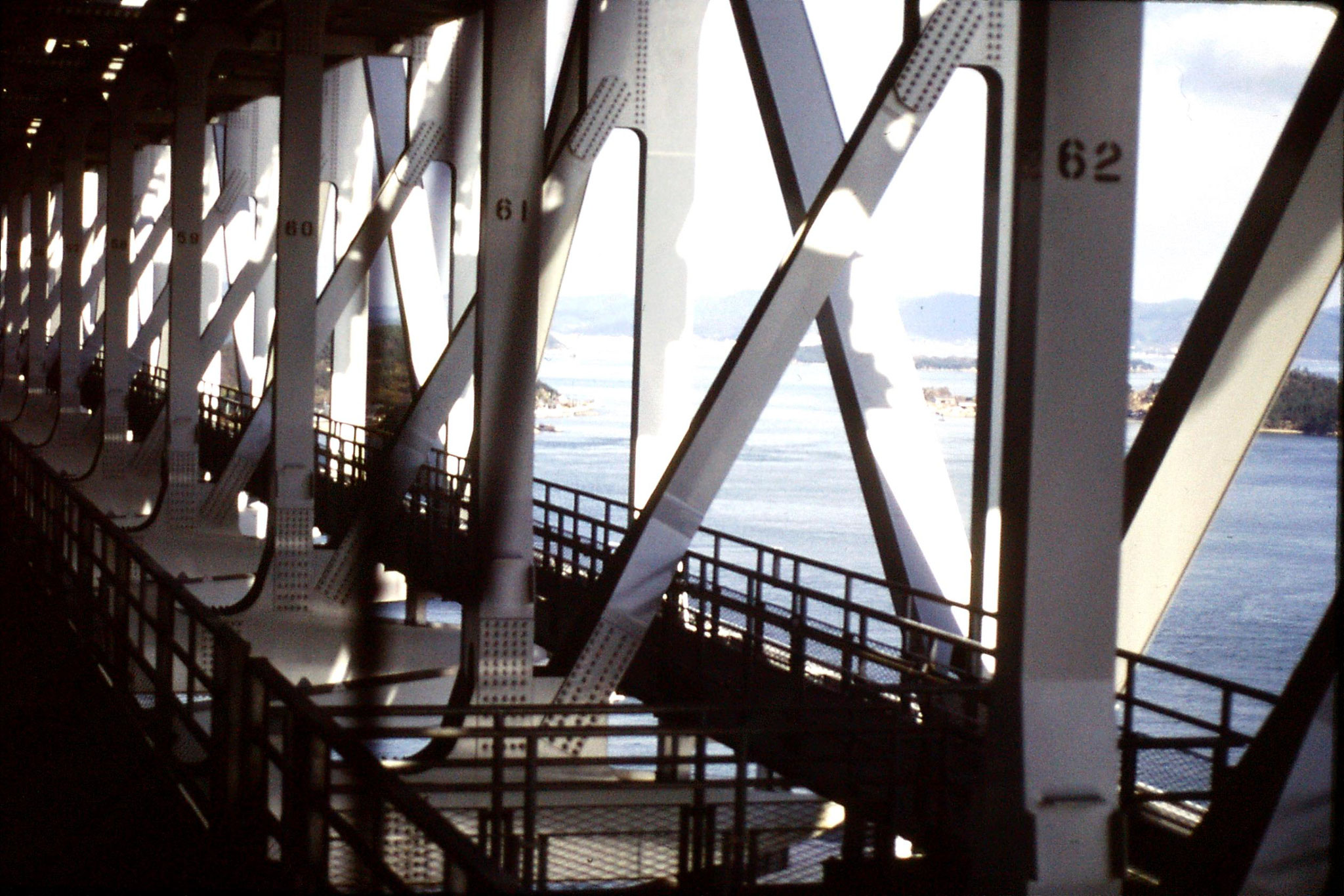 24/1/1989: 25: bridge over Seto Sea