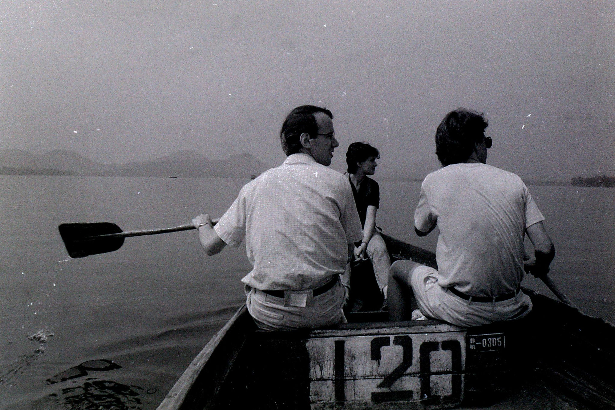 19/6/1989: 30: group visit to West Lake