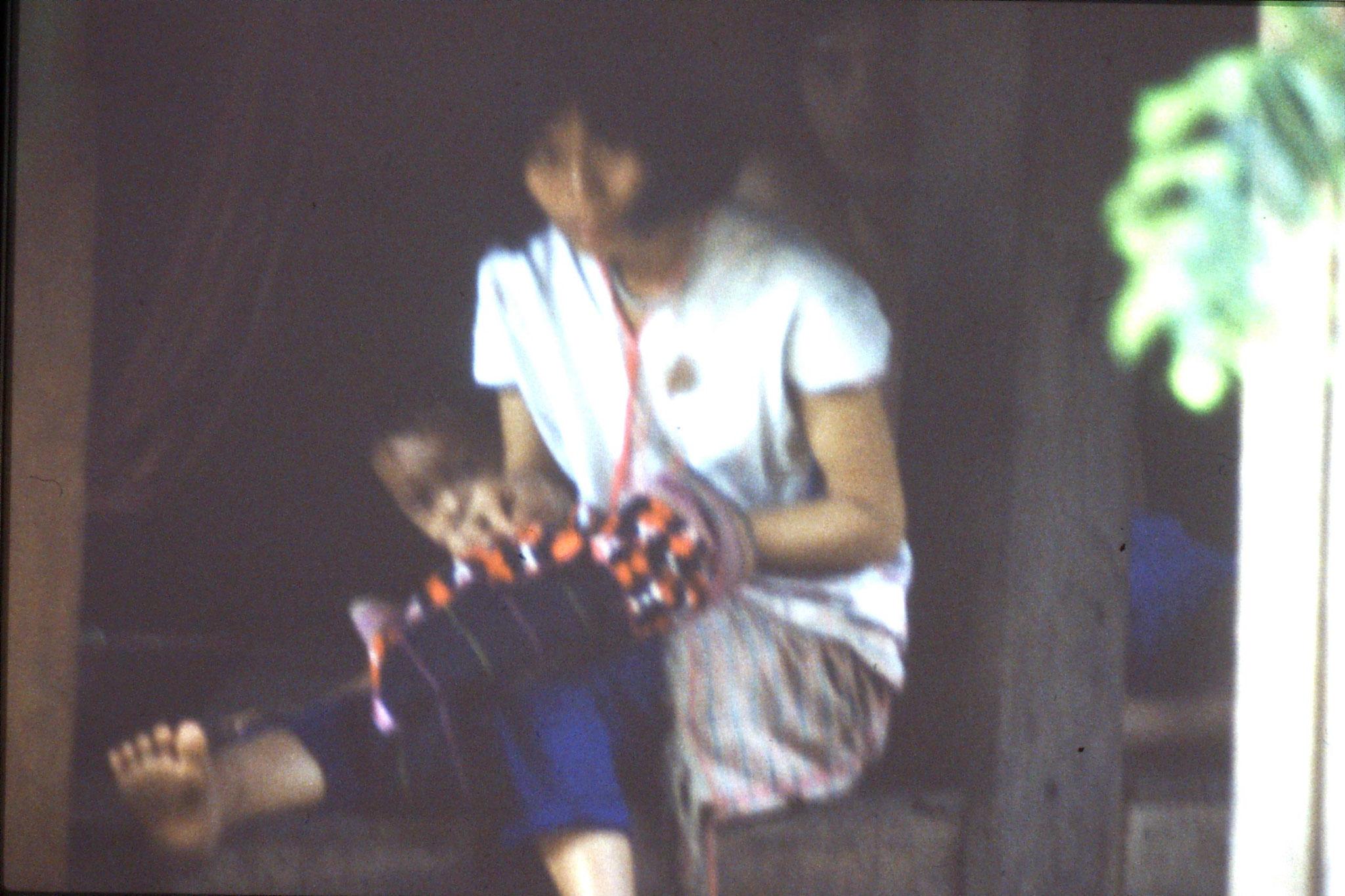 12/6/1990: 1: Trek - Mae Mi village (Karen)