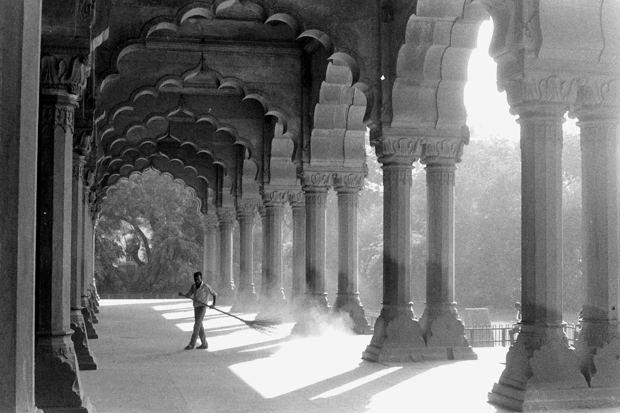 20/11/1989: 14: New Delhi Red Fort Hall of Public Audiences
