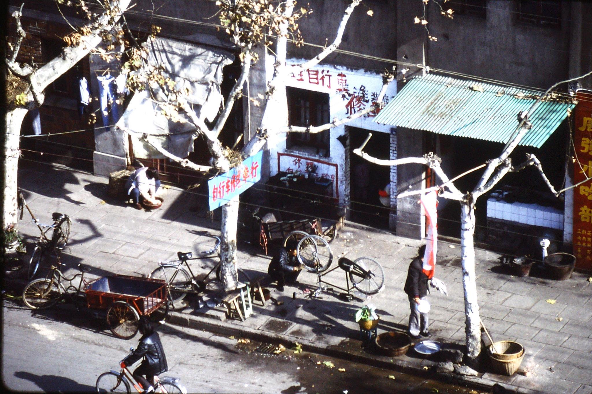 11/12/1988: 24: Nanjing bike repairer
