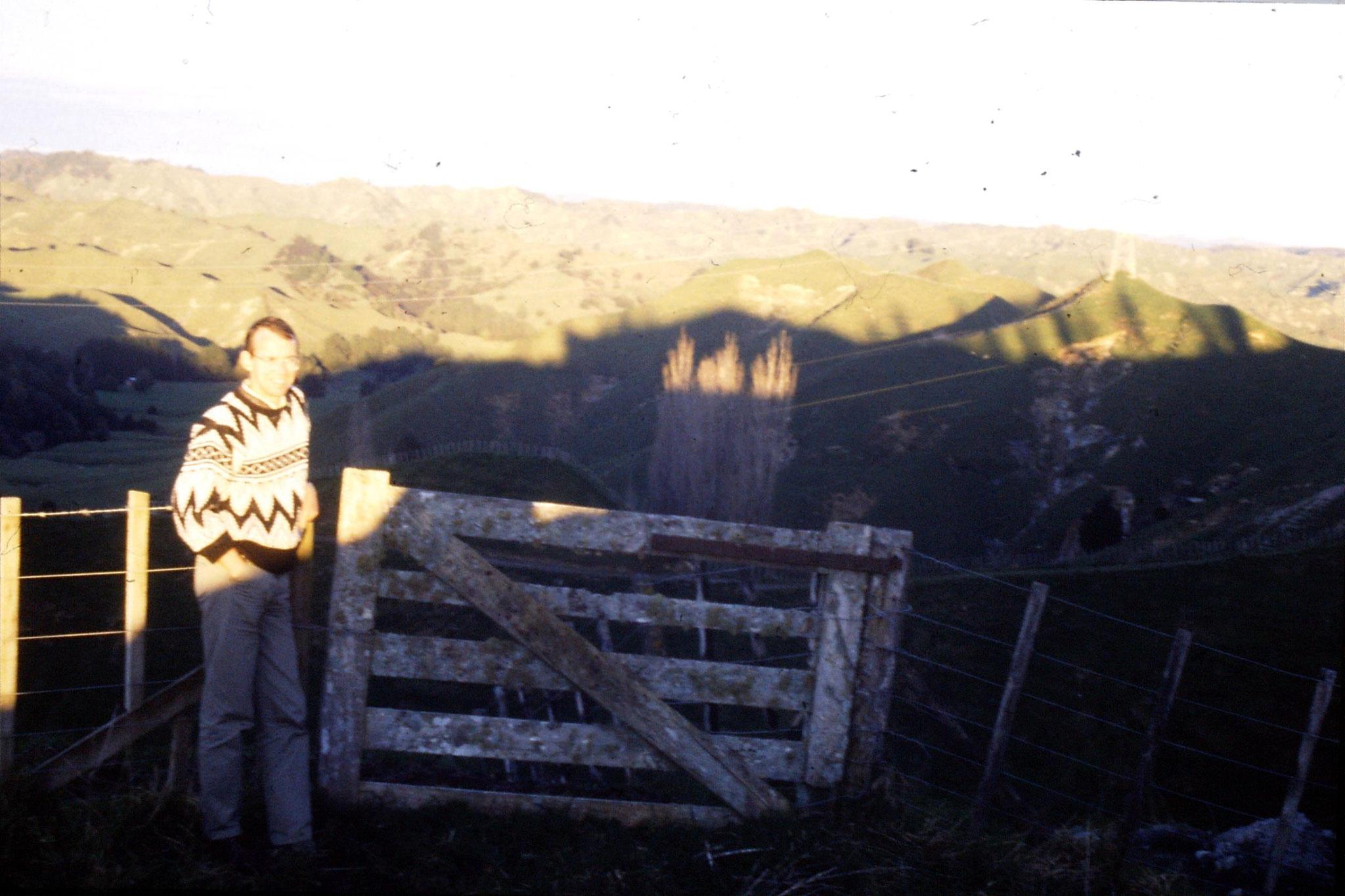 28/8/1990: 24: Mt Ruapehu from Tahora Saddle