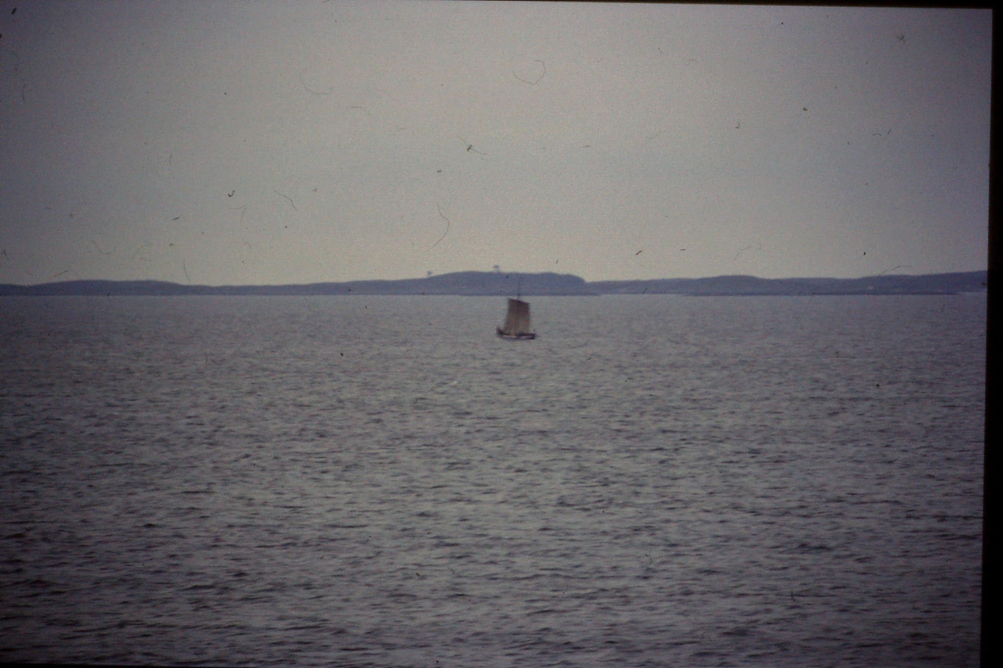 23/9/1988: 18: Frohavet, ? long boat