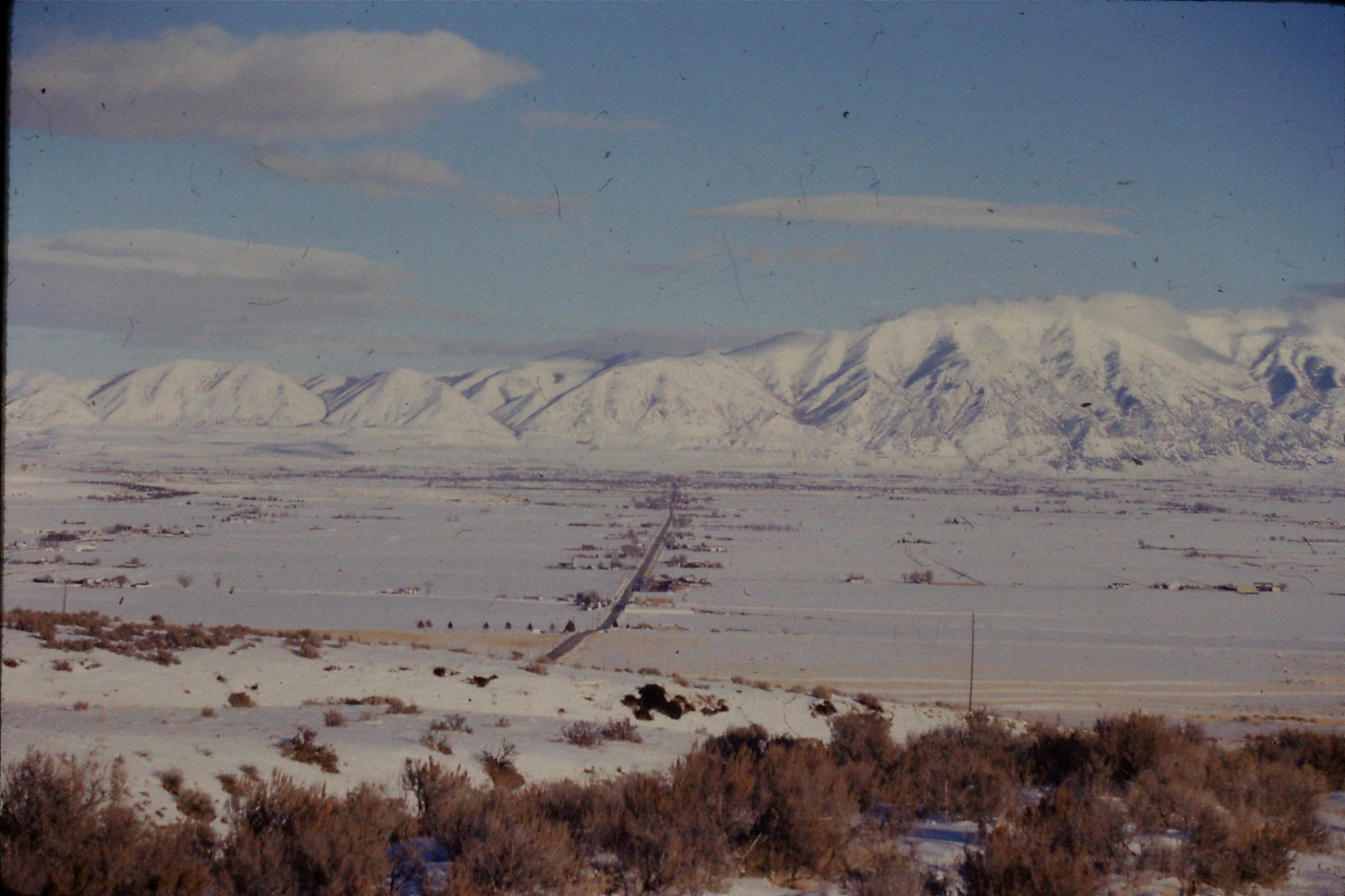 19/1/1991: 14: Idaho Bothwell north of Brigham City