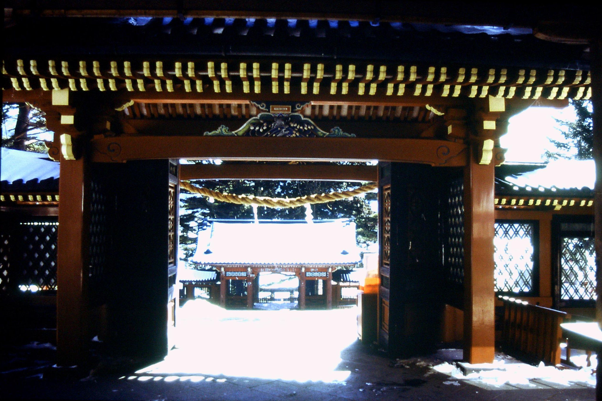 30/1/1989: 6: Futarasan shrine