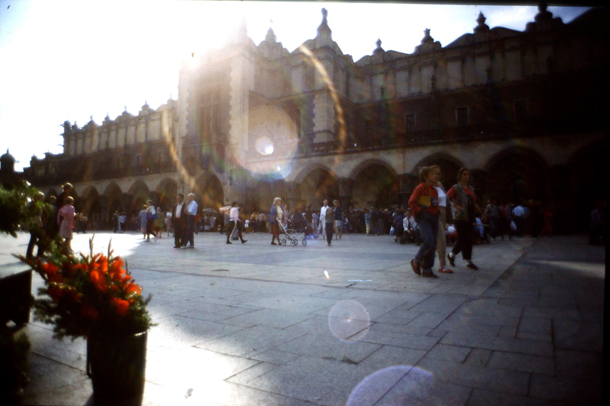 24/8/1988: 5: Krakow, Cloth Hall