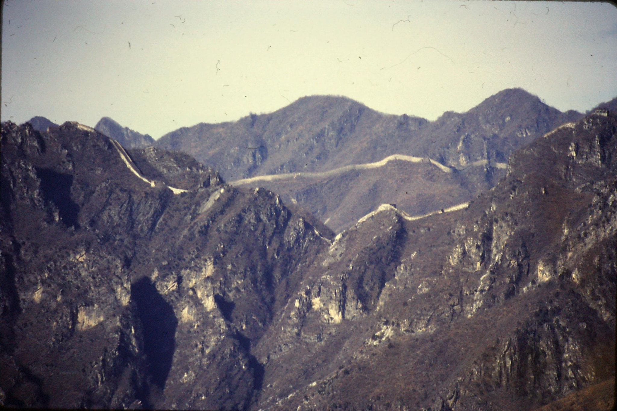 13/11/1988: 18: Great Wall at Mutianyu